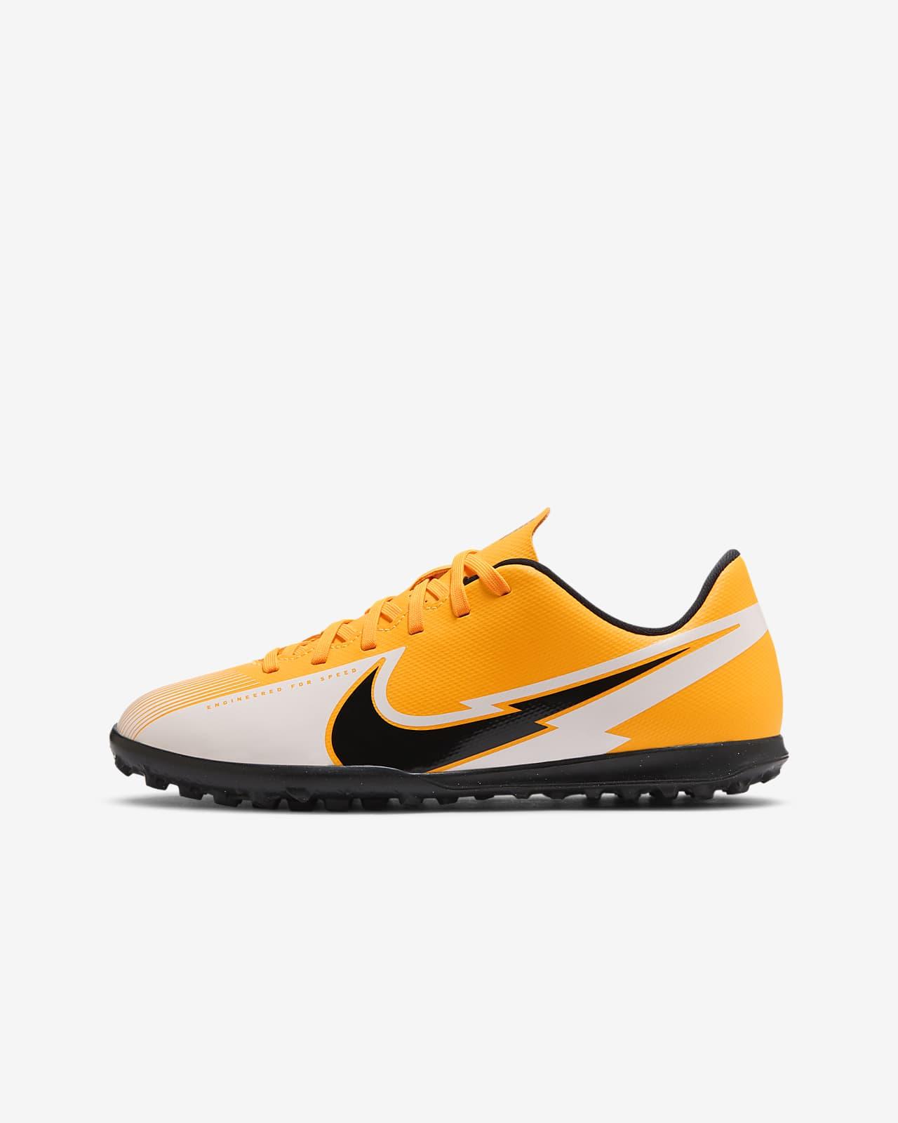 Buty piłkarskie na sztuczną nawierzchnię typu turf dla małych/dużych dzieci Nike Jr. Mercurial Vapor 13 Club TF