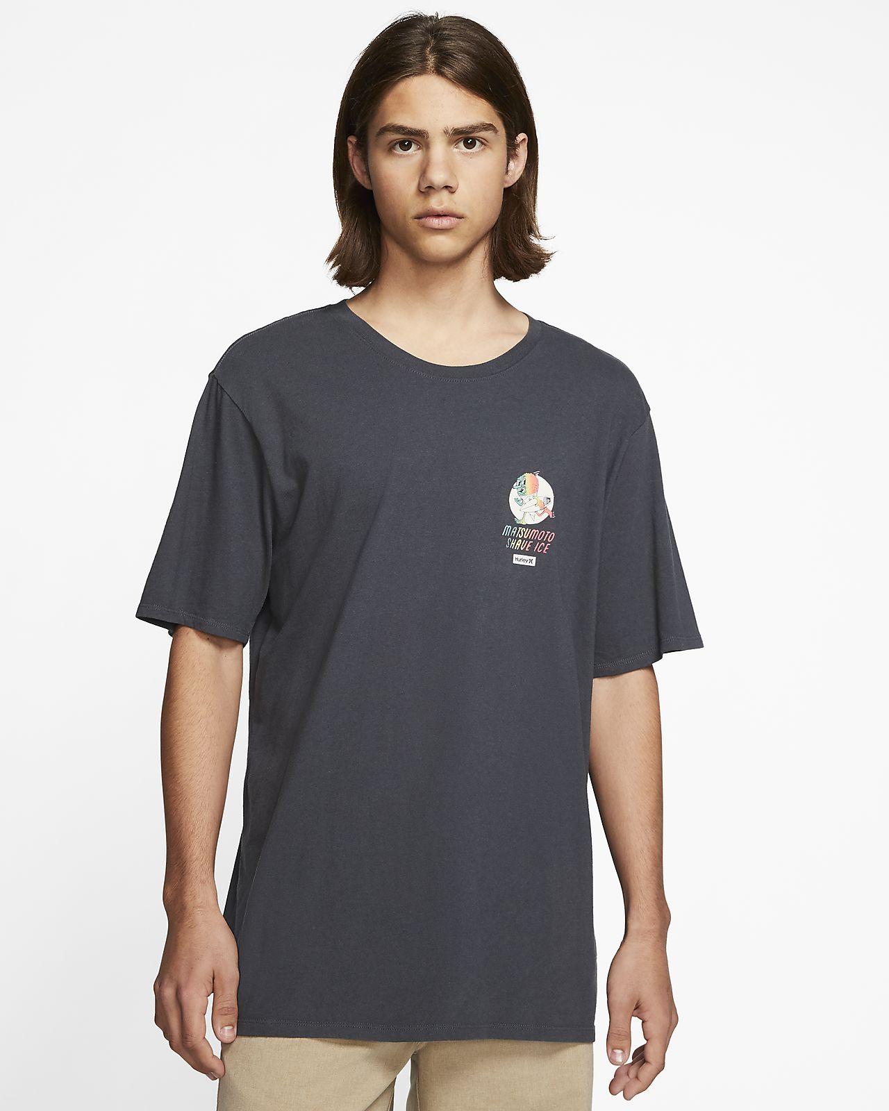 T-shirt męski Hurley x Matsumoto Shave Ice