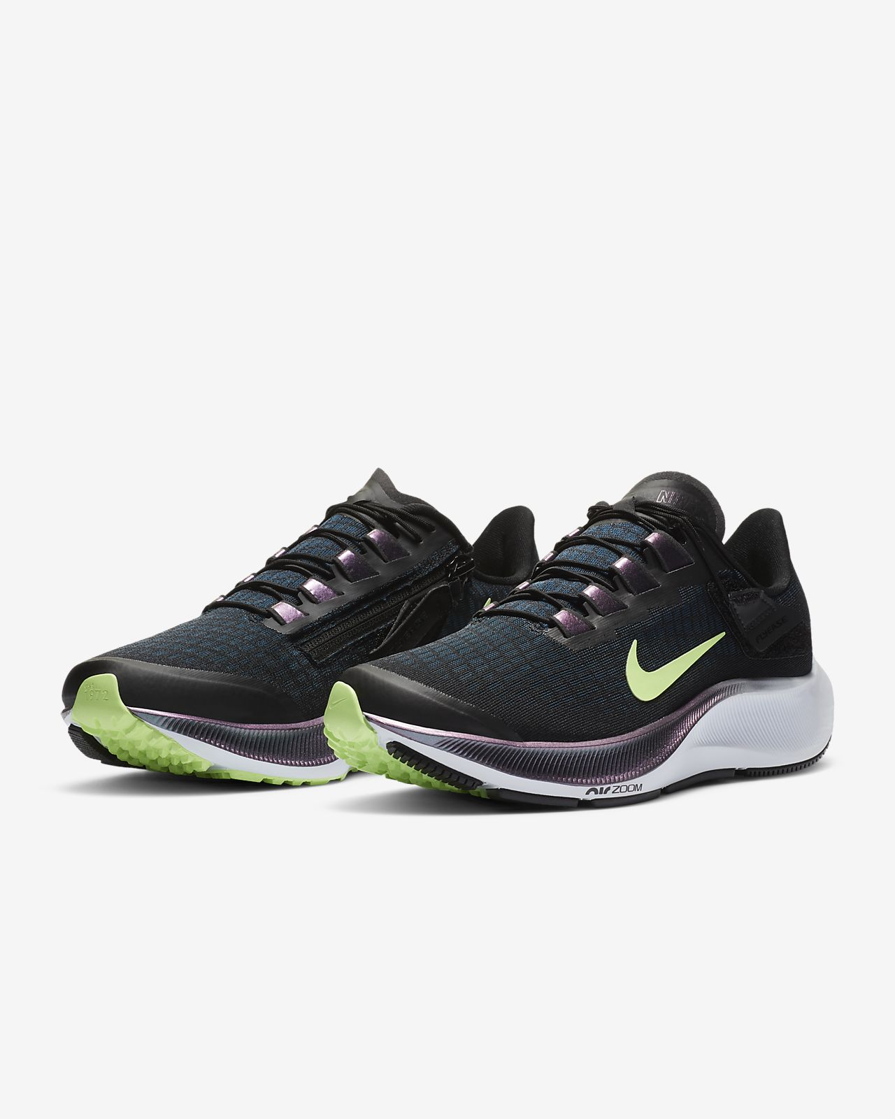 cebra hospital acantilado  Nike Pegasus 36 FlyEase Extra Wide Mes Running Shoe