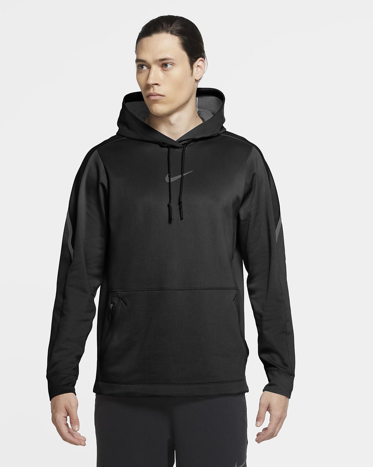 Felpa pullover con cappuccio Nike Pro - Uomo