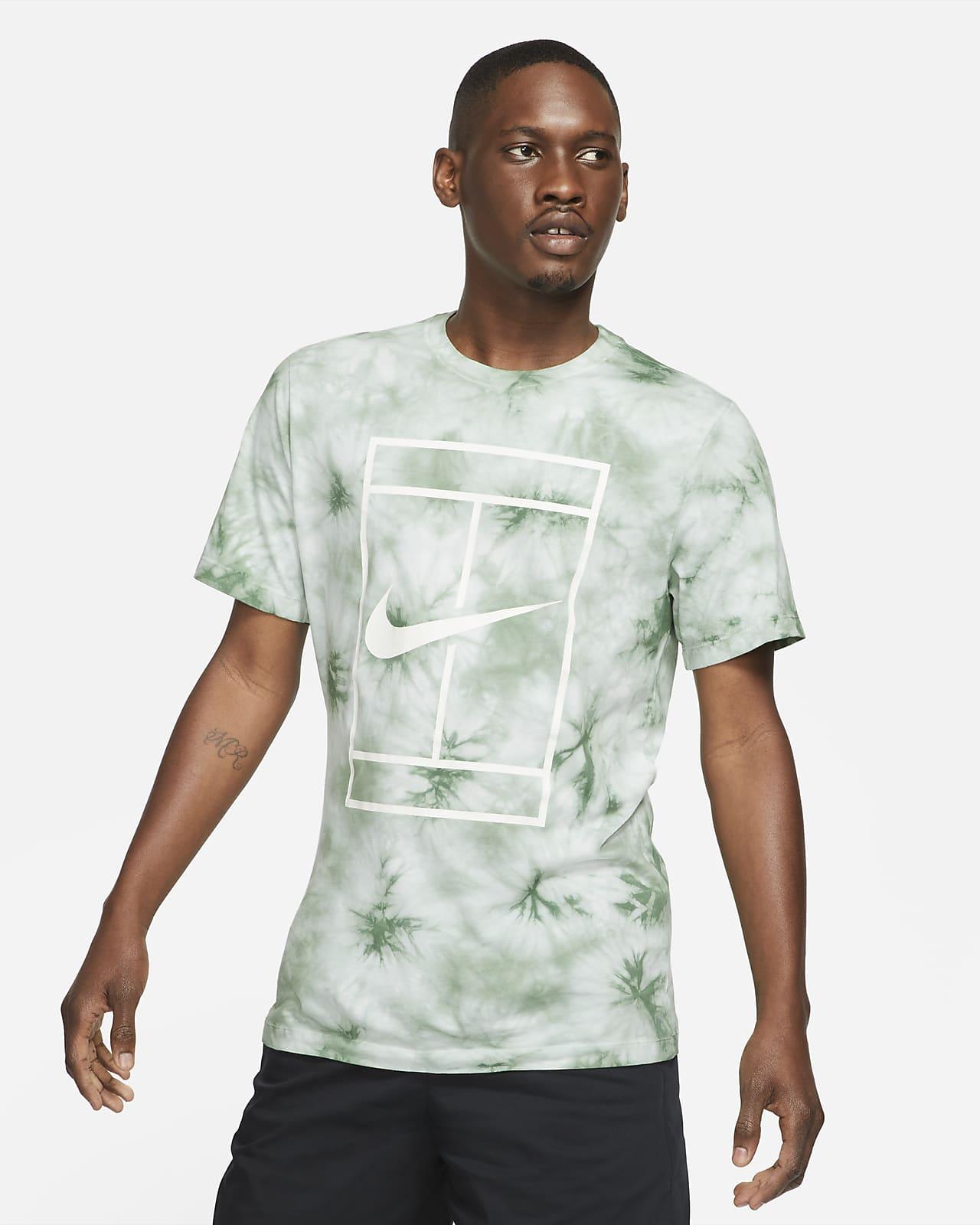 Tee-shirt de tennis à motif tie-dye NikeCourt pour Homme
