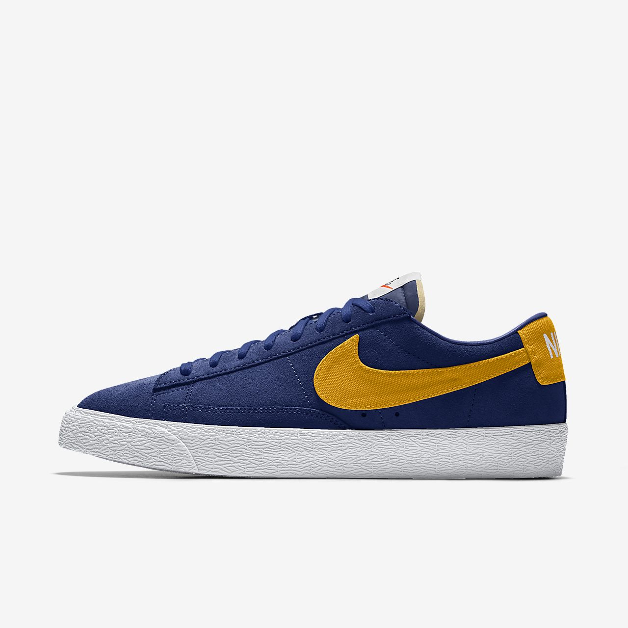 Specialdesignad sko Nike Blazer Low By You för män