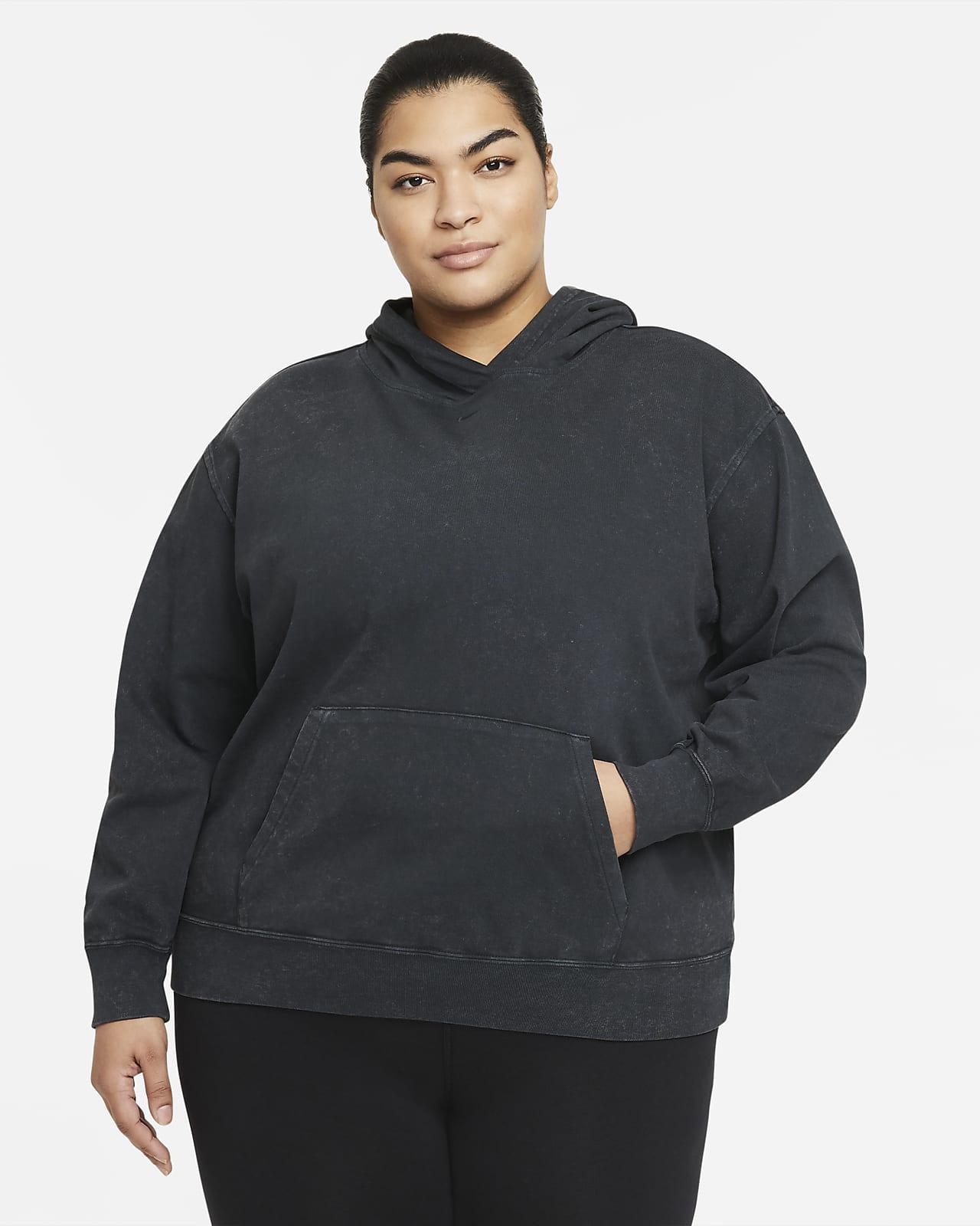 Nike Sportswear Women's Washed Hoodie (Plus Size)