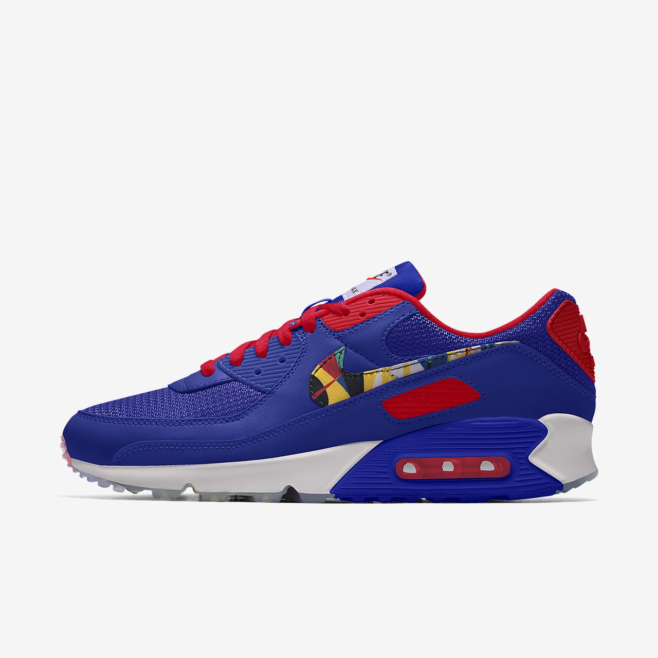 Nike Air Max 90 Premium By You Custom Lifestyle Shoe
