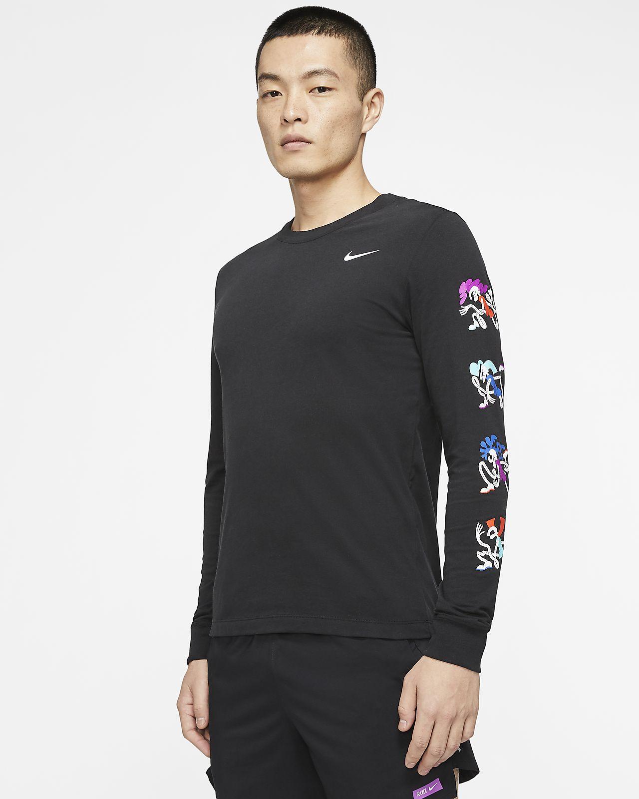 Långärmad NBA-t-shirt Nike Dri-FIT för män