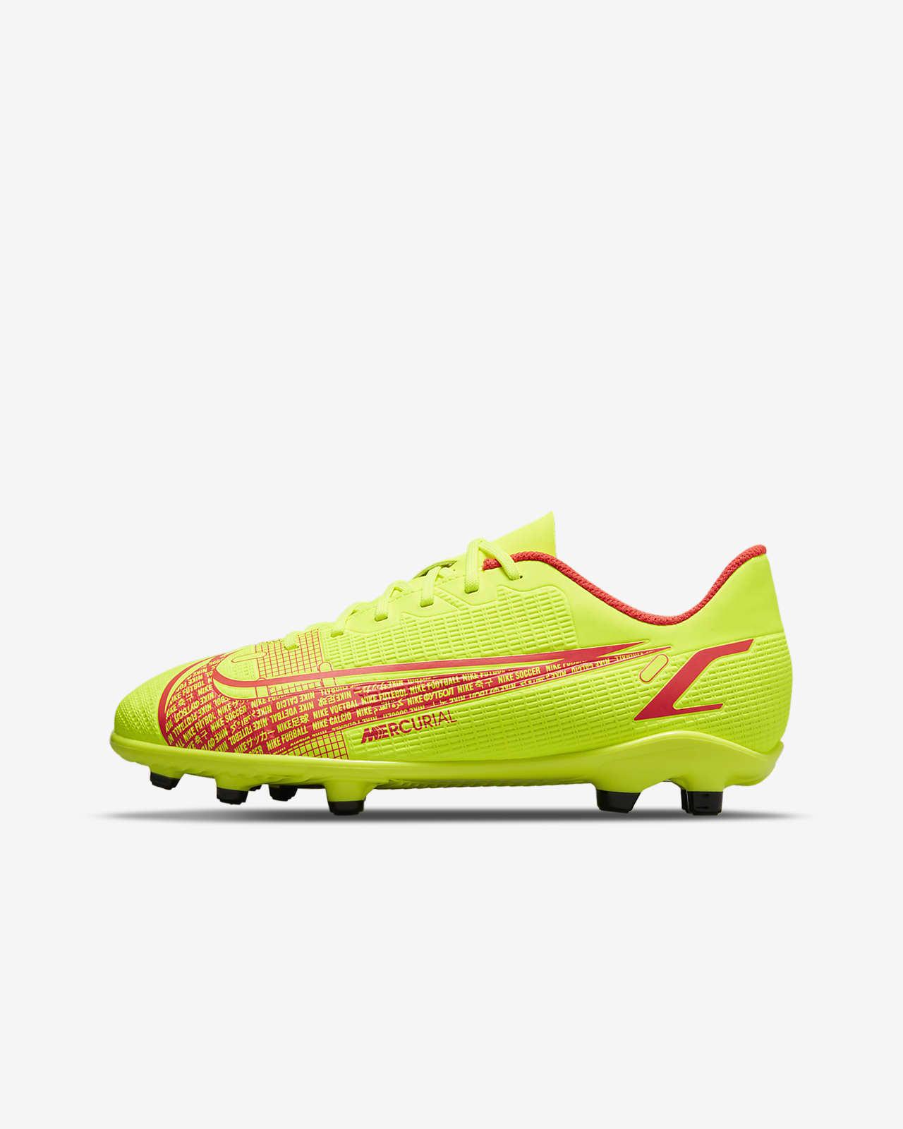 Korki piłkarskie na różne typy nawierzchni dla małych/dużych dzieci Nike Jr. Mercurial Vapor 14 Club FG/MG