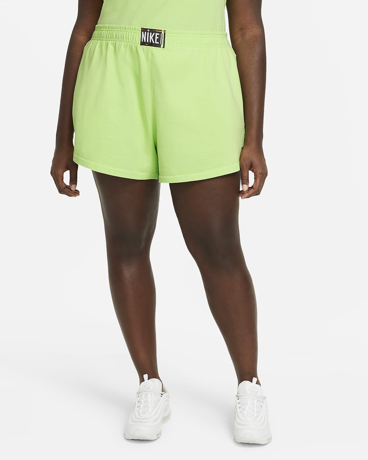 Shorts lavados para mujer Nike Sportswear (talla grande)