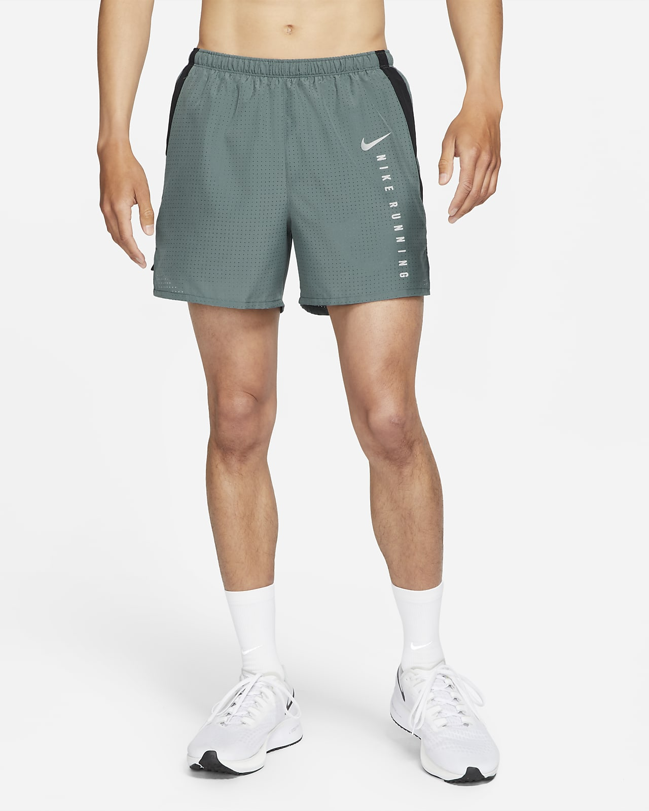 Nike Challenger Run Division Men's Brief-Lined Running Shorts