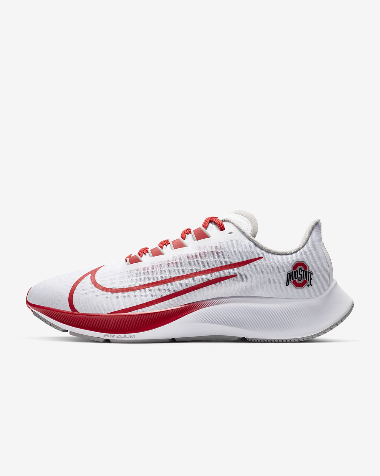 Nike College Zoom Pegasus 37 (Ohio State) Running Shoe