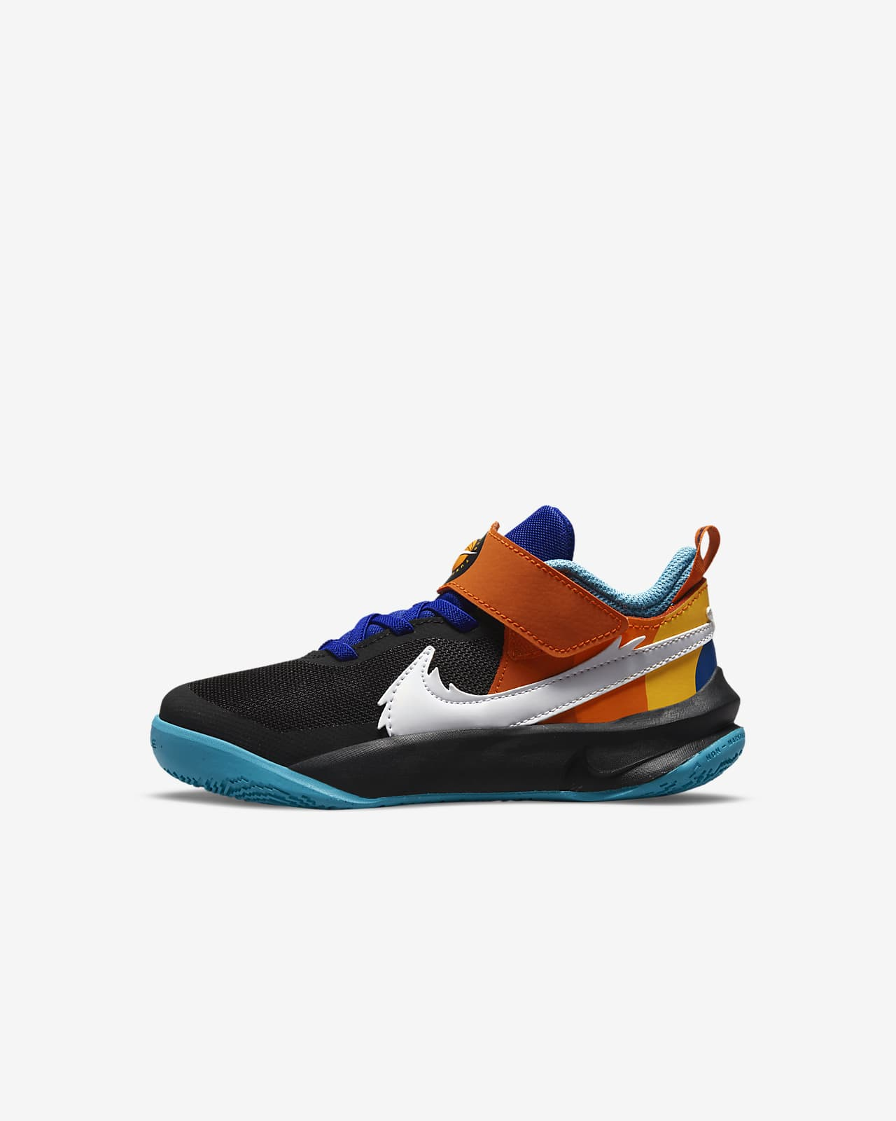 Nike Team Hustle D 10 SE x Space Jam: A New Legacy sko til små barn