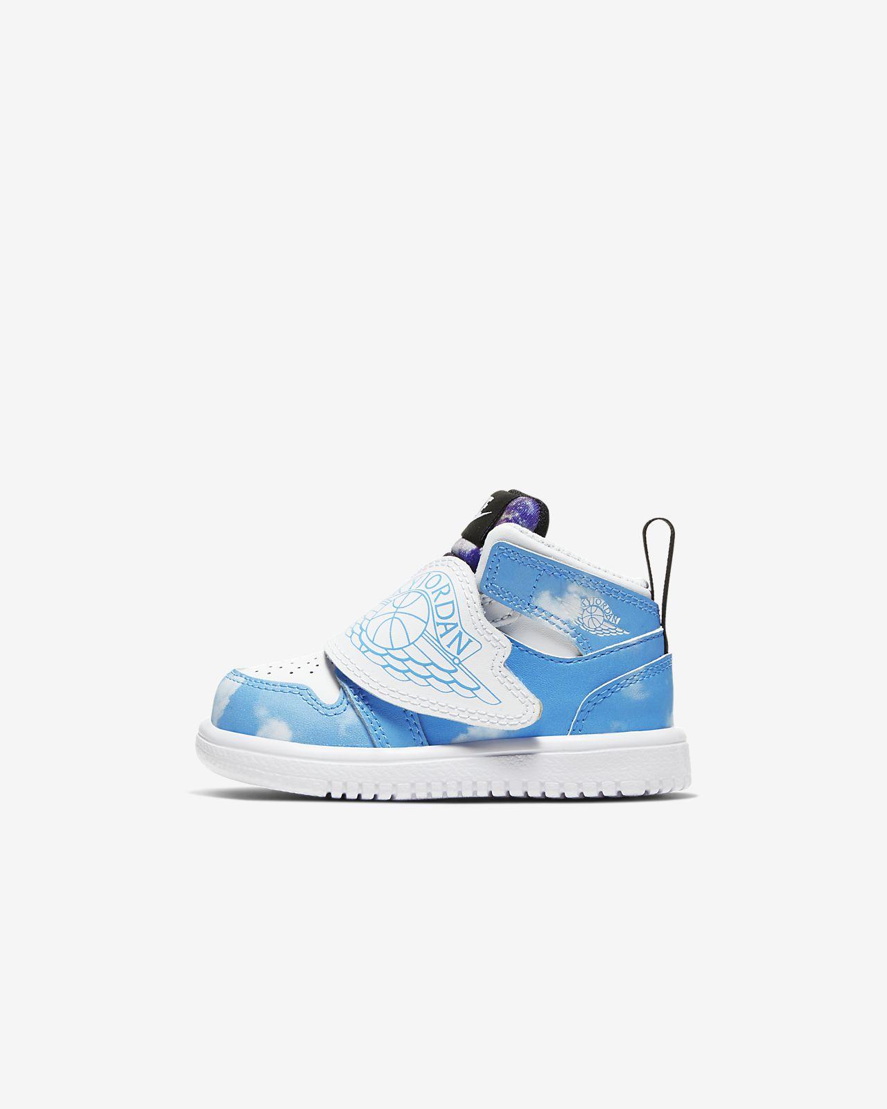 Sky Jordan 1 Fearless Schoen voor baby'speuters