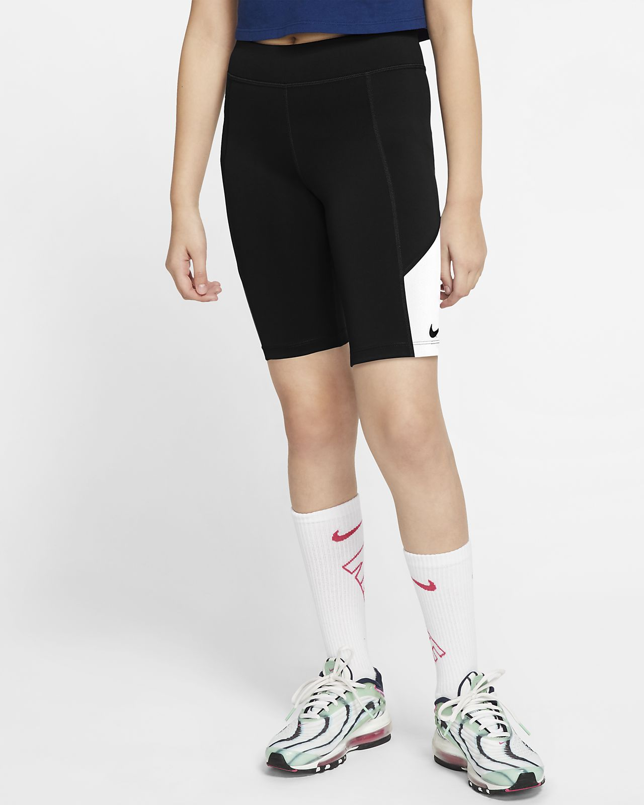 Spodenki treningowe dla dużych dzieci (dziewcząt) Nike Trophy