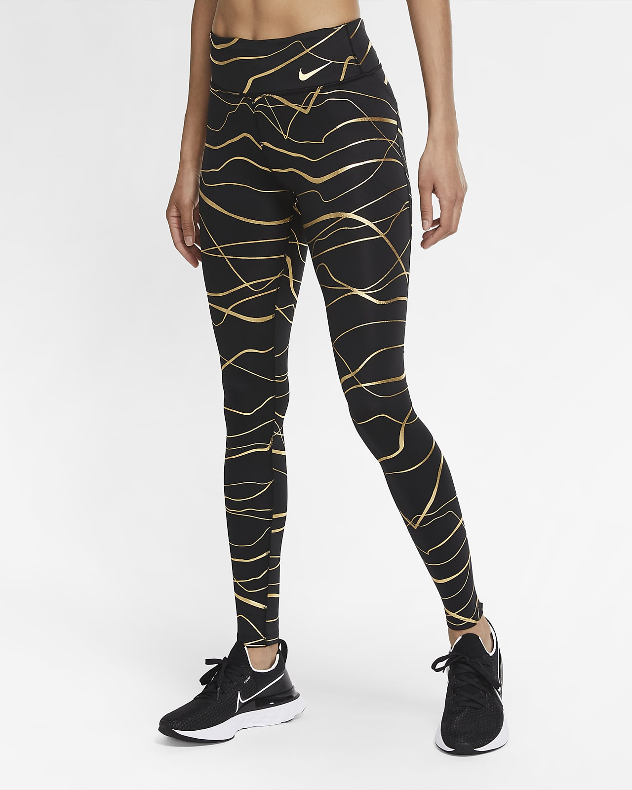 Damskie legginsy do biegania Nike Icon Clash Fast