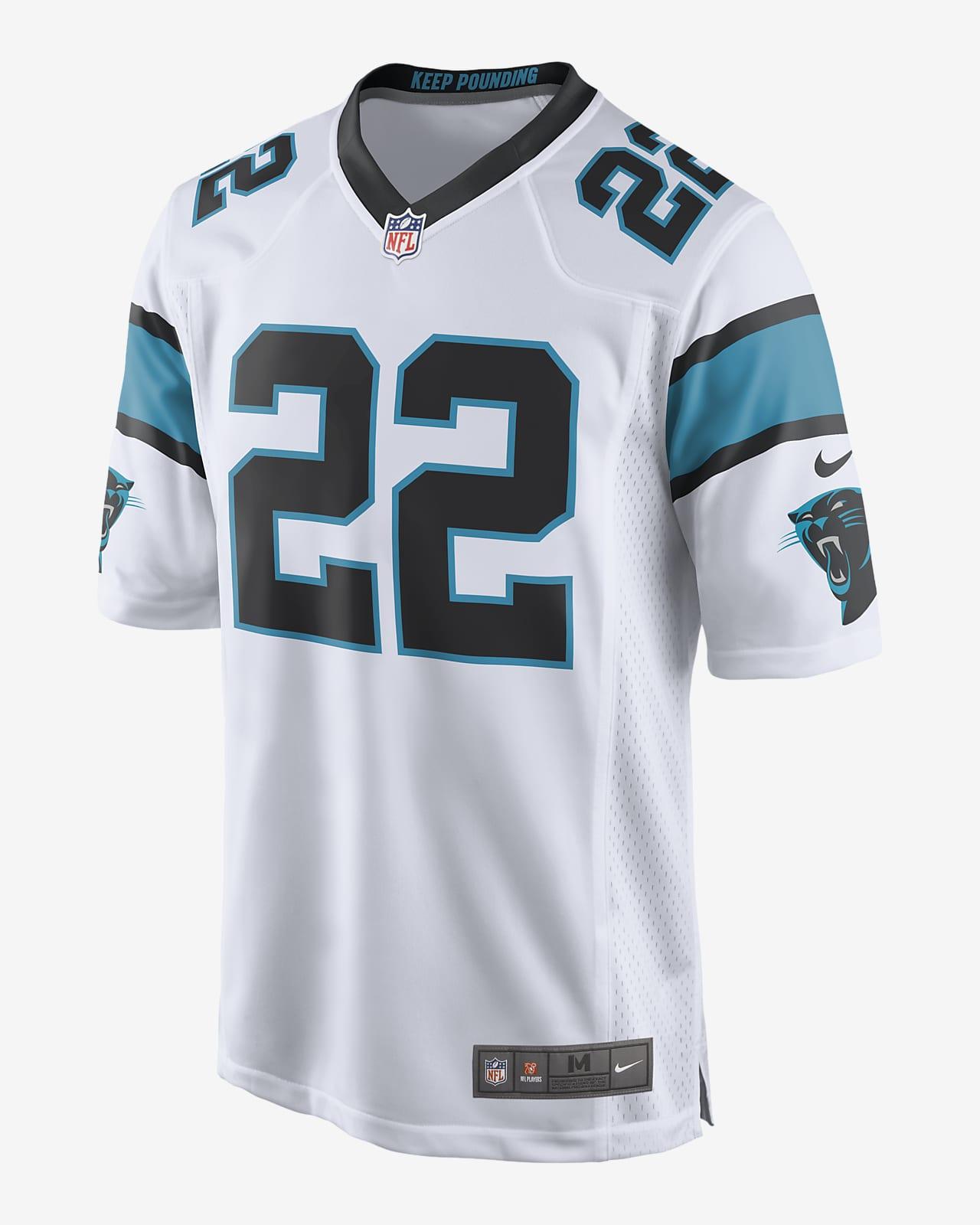 NFL Carolina Panthers (Christian McCaffrey) Men's Game Football Jersey