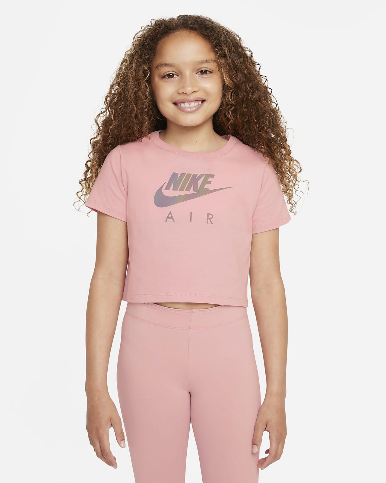 T-Shirt crop Nike Sportswear για μεγάλα κορίτσια