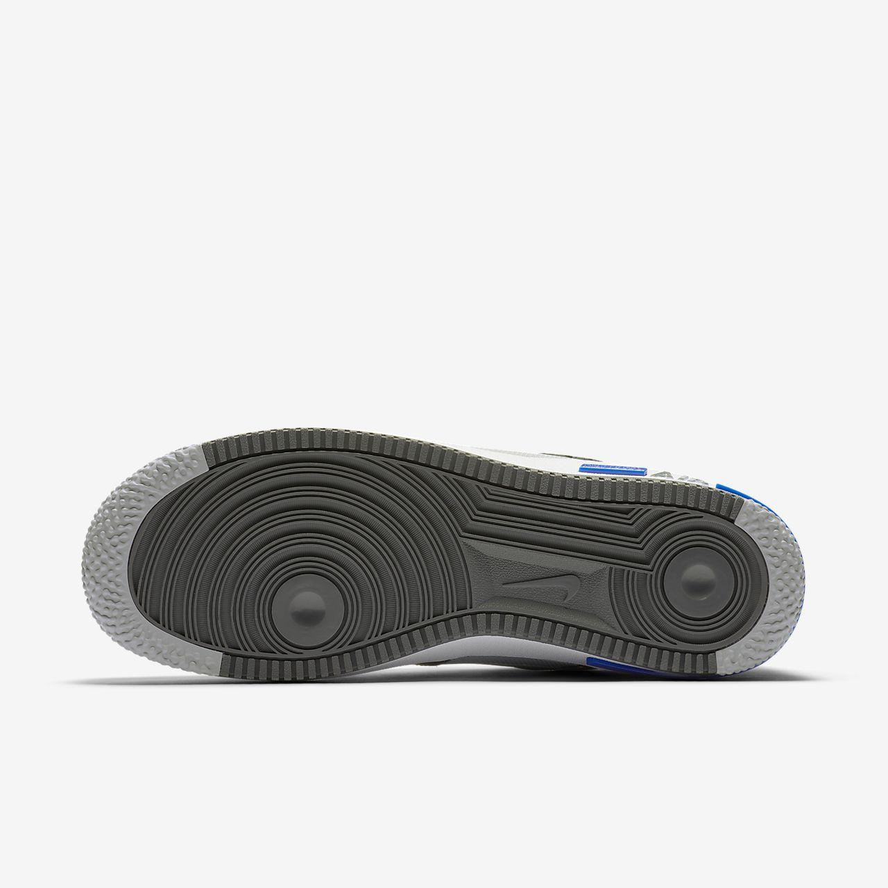 Nike Air Force 1 React Wolf Grey White Smoke Grey Dark Grey