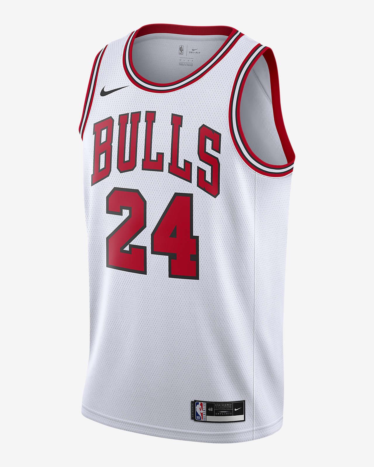 Maillot Nike NBA Swingman Lauri Markkanen Bulls Association Edition 2020