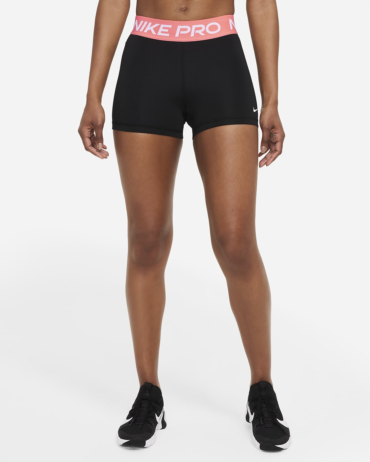 Shorts Nike Pro 7,5 cm för kvinnor