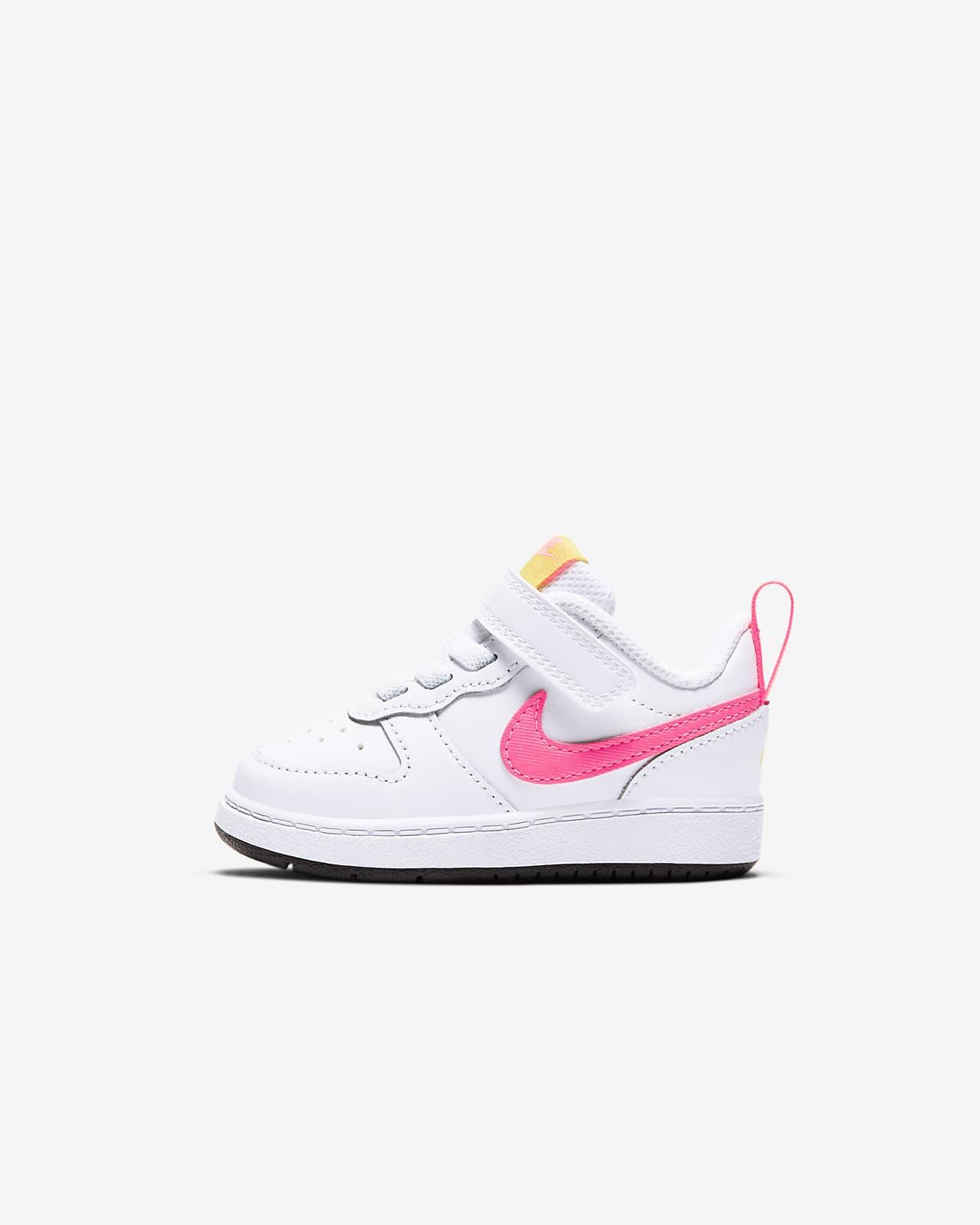NikeCourt Borough Low 2-sko til babyer/småbørn