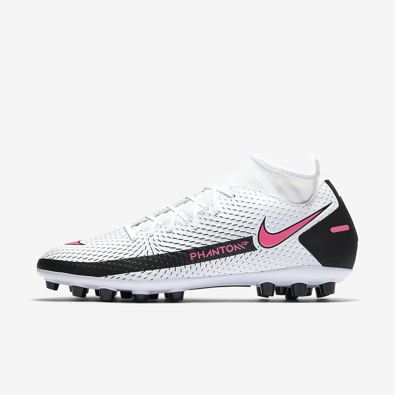 Chaussure de football à crampons pour terrain synthétique Nike Phantom GT Academy Dynamic Fit AG