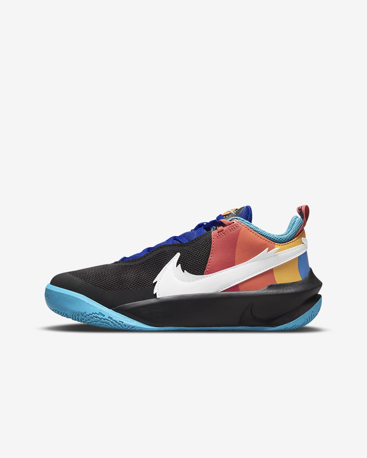 Nike Team Hustle D 10 SE x Space Jam: A New Legacy Big Kids' Basketball Shoes