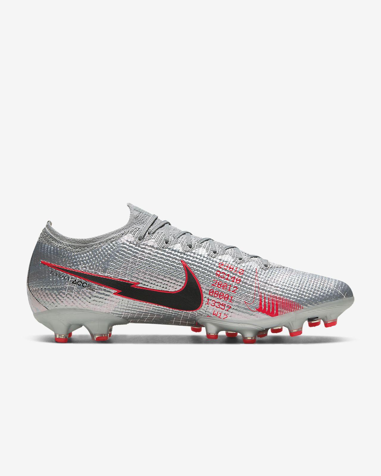 Chaussure de football à crampons pour terrain synthétique Nike Mercurial Vapor 13 Elite AG PRO