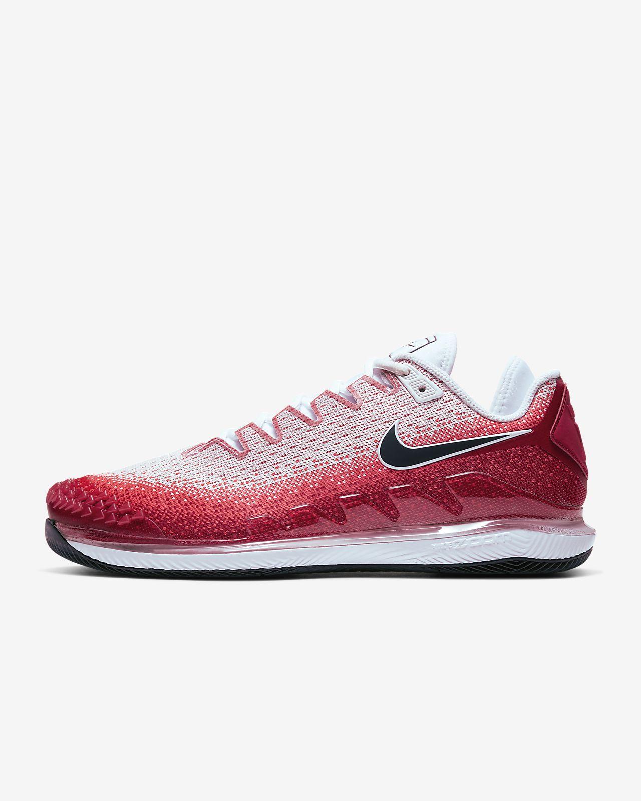 NikeCourt Air Zoom Vapor X Knit Sert Kort Erkek Tenis Ayakkabısı
