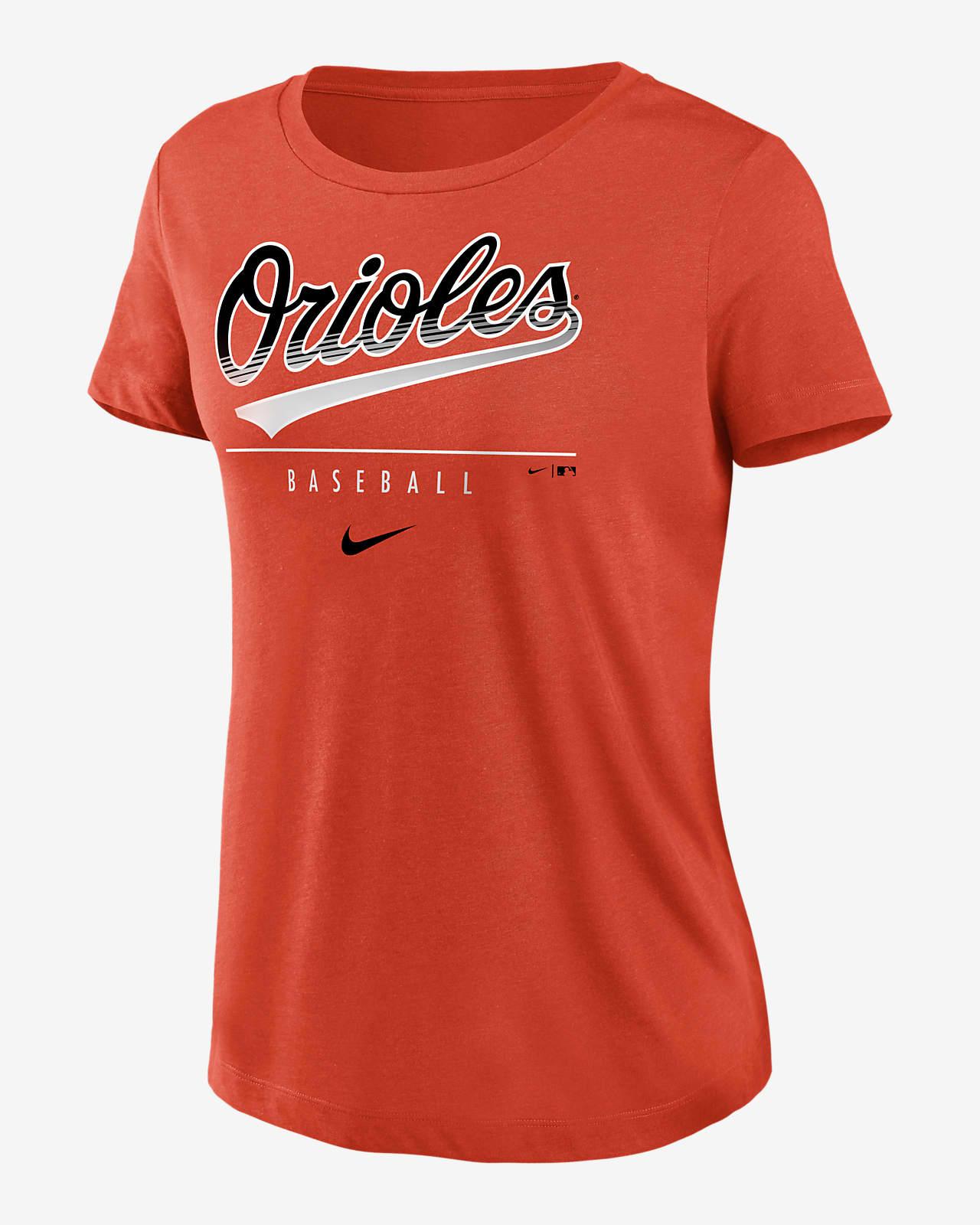 Nike Dri-FIT Lettering Essential (MLB Baltimore Orioles) Women's T-Shirt