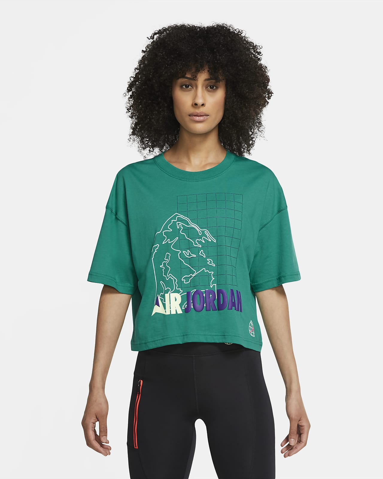 Jordan Winter Utility 女款短袖寬版 T 恤