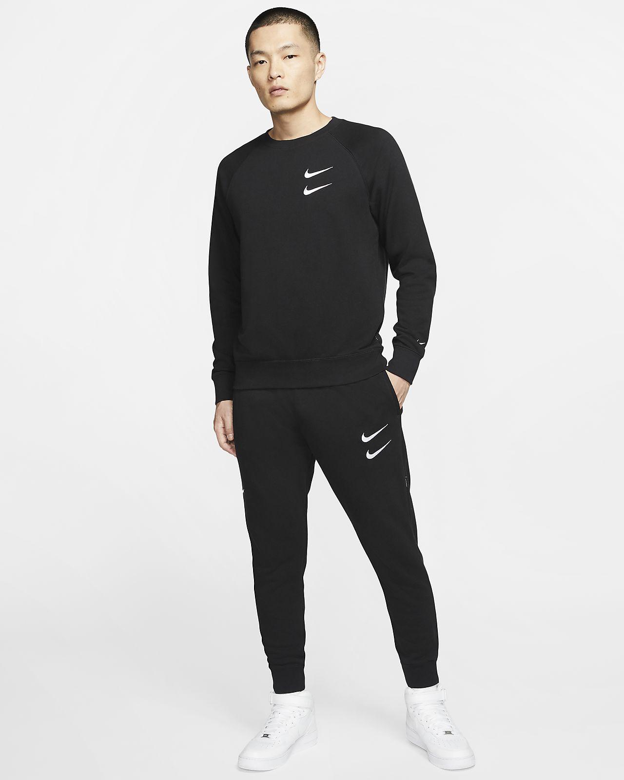 Pantaloni in French terry Nike Sportswear Swoosh Uomo