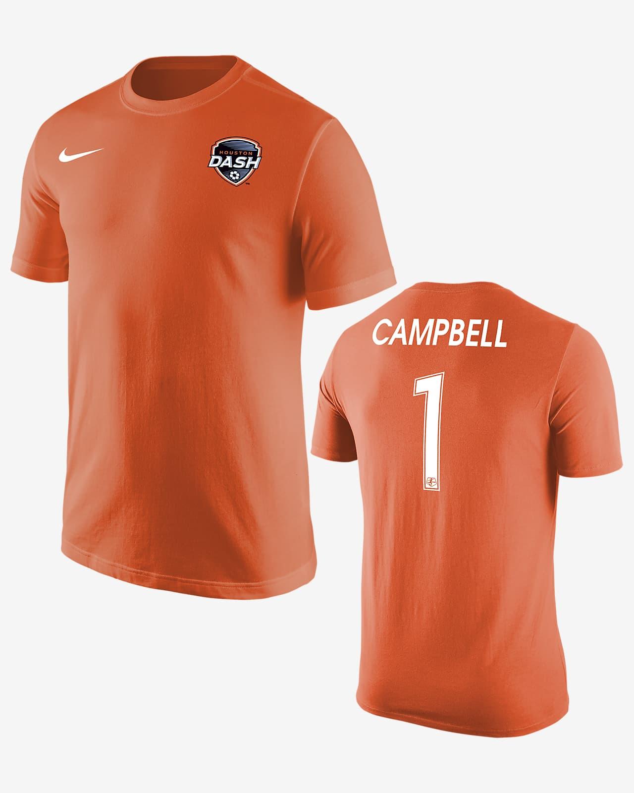 Playera de fútbol Houston Dash Jane Campbell