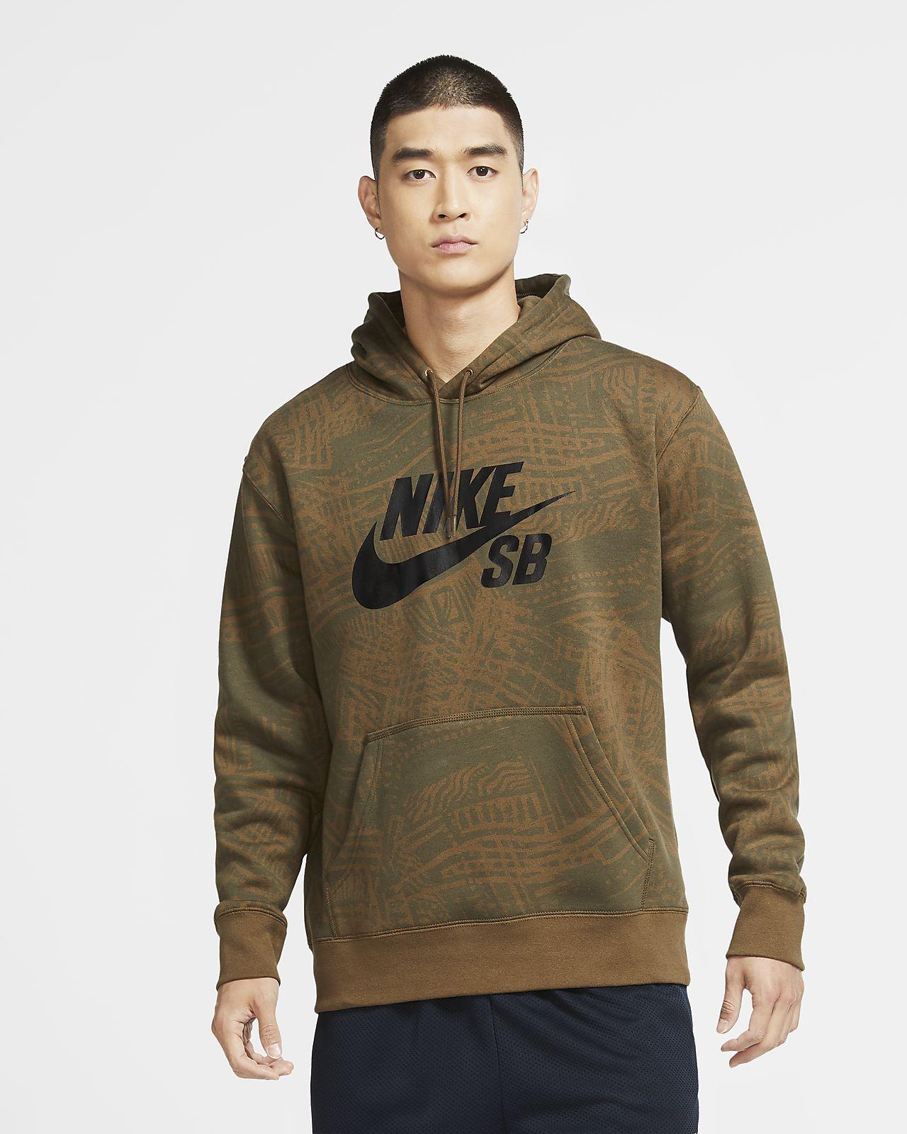Nike SB Skate-Hoodie mit Print für Herren