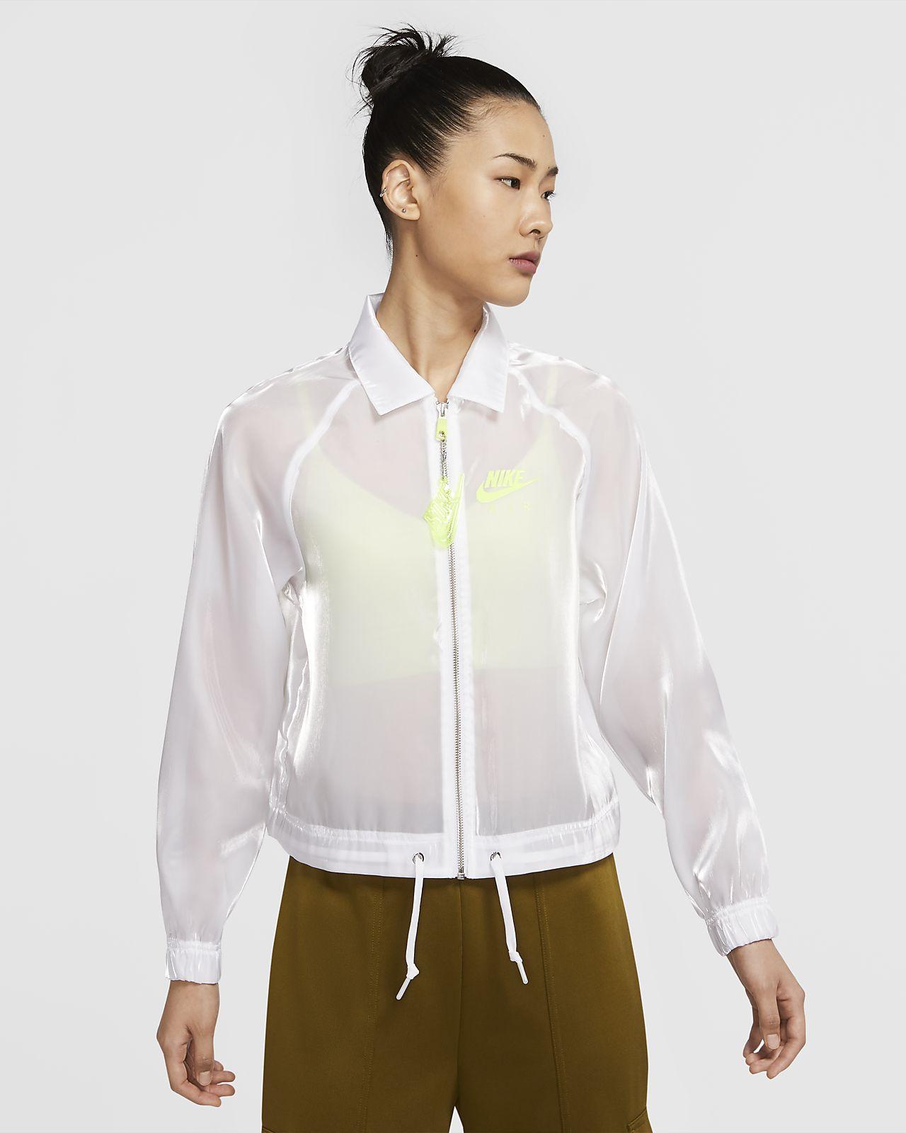 เสื้อแจ็คเก็ตโค้ชผู้หญิง Nike Air