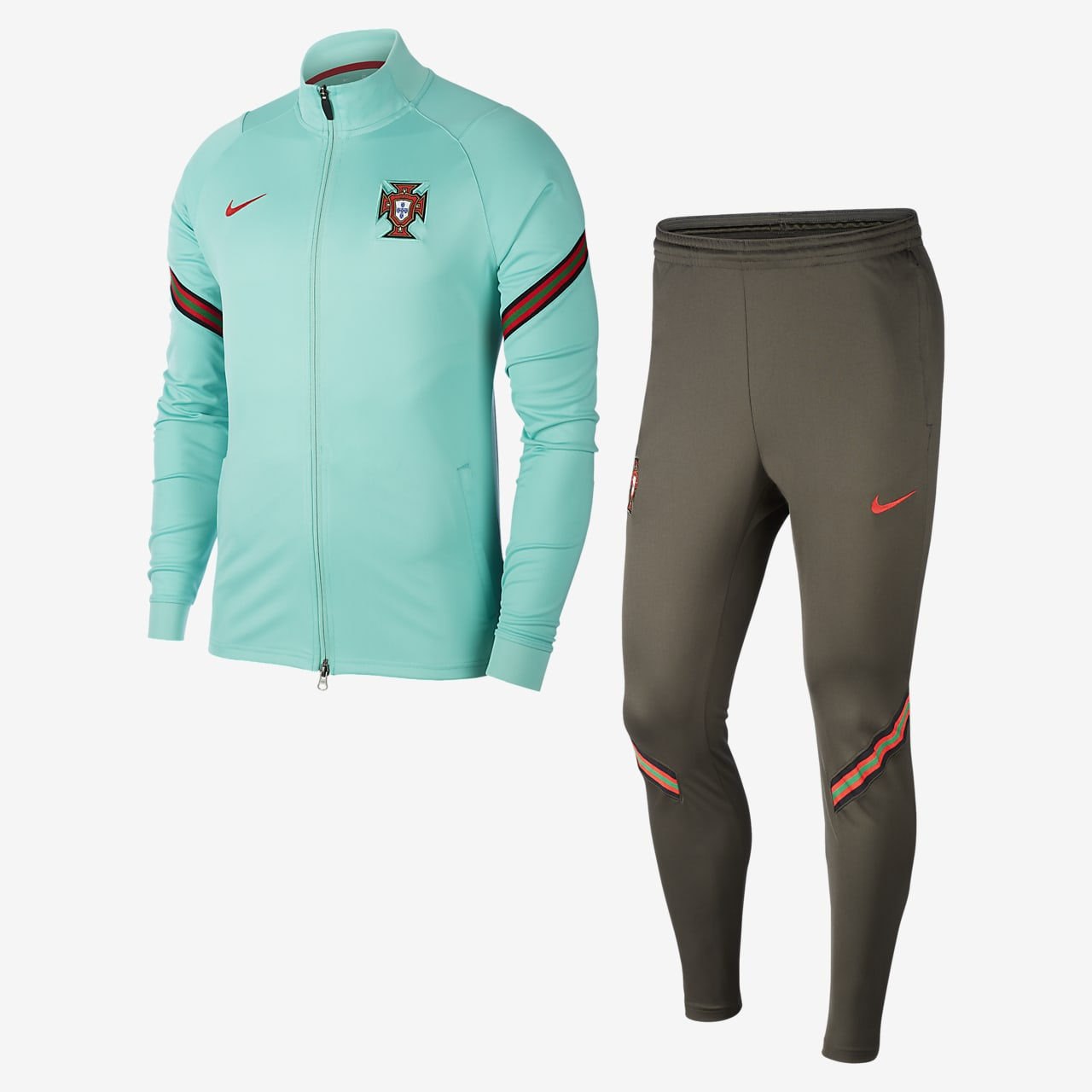 Portugal Strike Men's Football Tracksuit