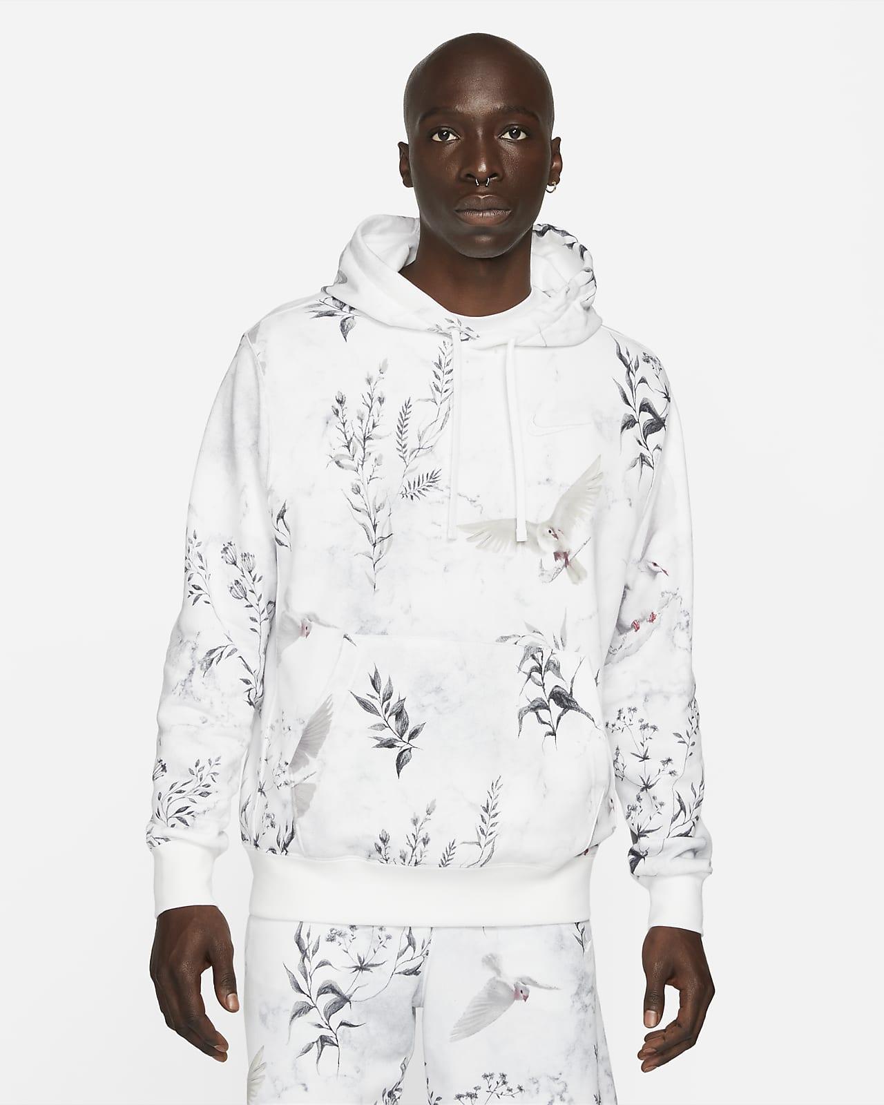 Sudadera con gorro sin cierre de tejido French Terry Nike Sportswear Club