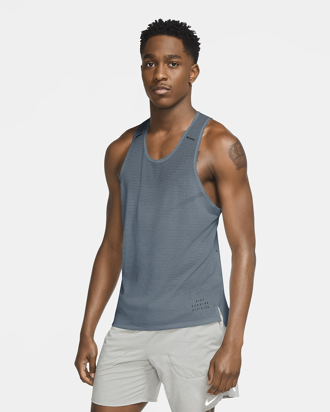 Camiseta de tirantes de running para hombre Nike Run Division Adapt