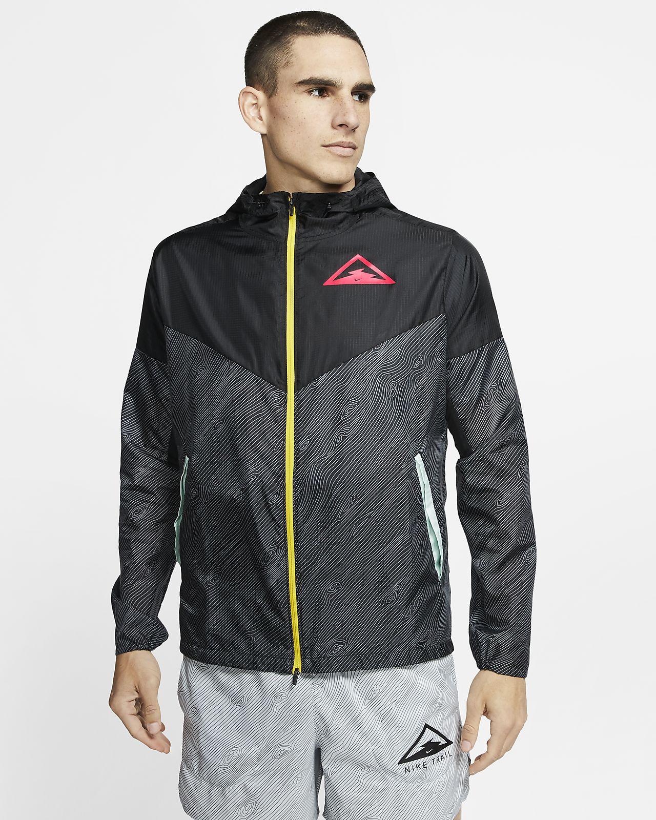 Nike Windrunner Trail-Laufjacke mit Kapuze für Herren