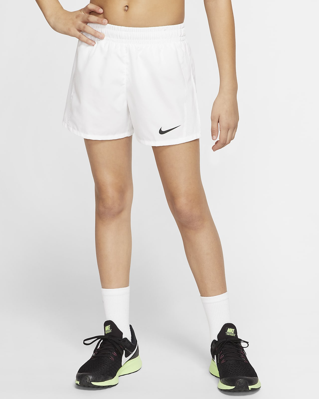 Nike Dri-FIT Big Kids' (Girls') Running Shorts