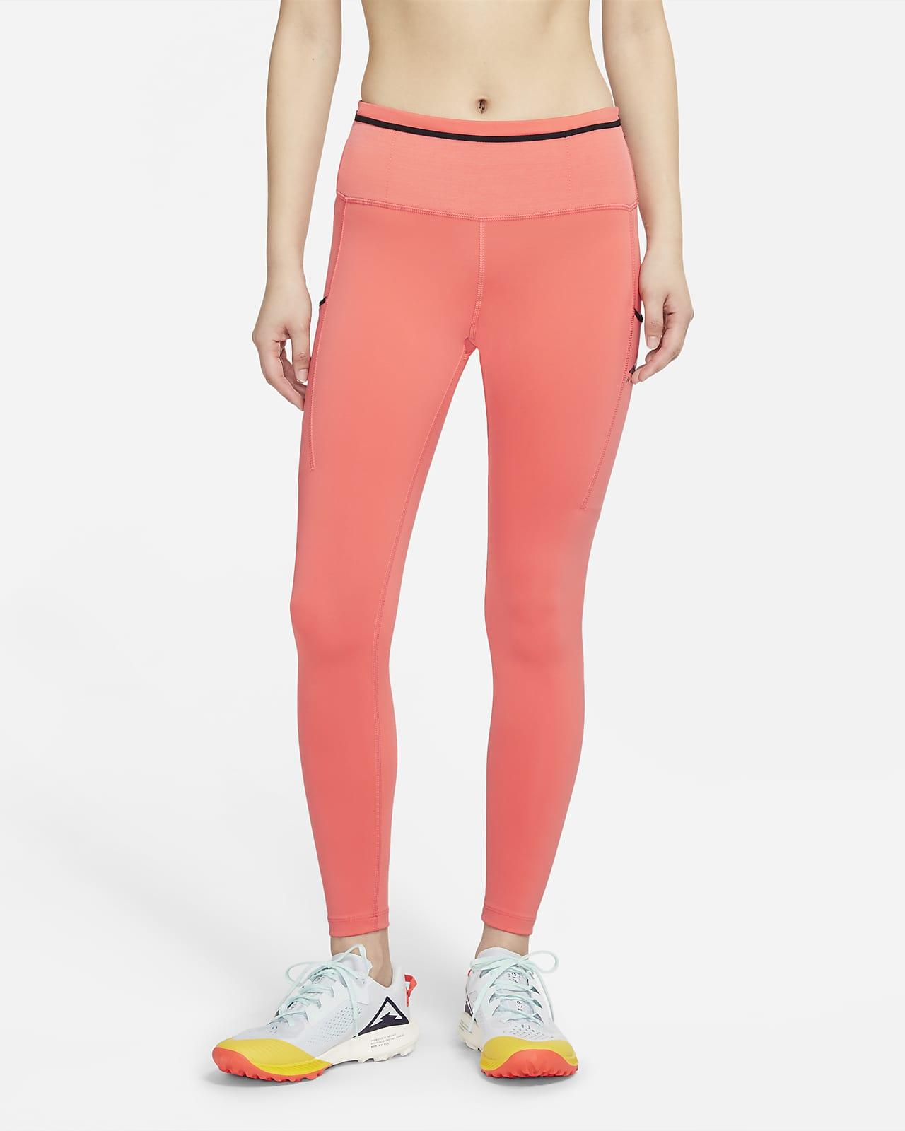 เลกกิ้งวิ่งเทรลเอวปานกลางผู้หญิง Nike Epic Luxe