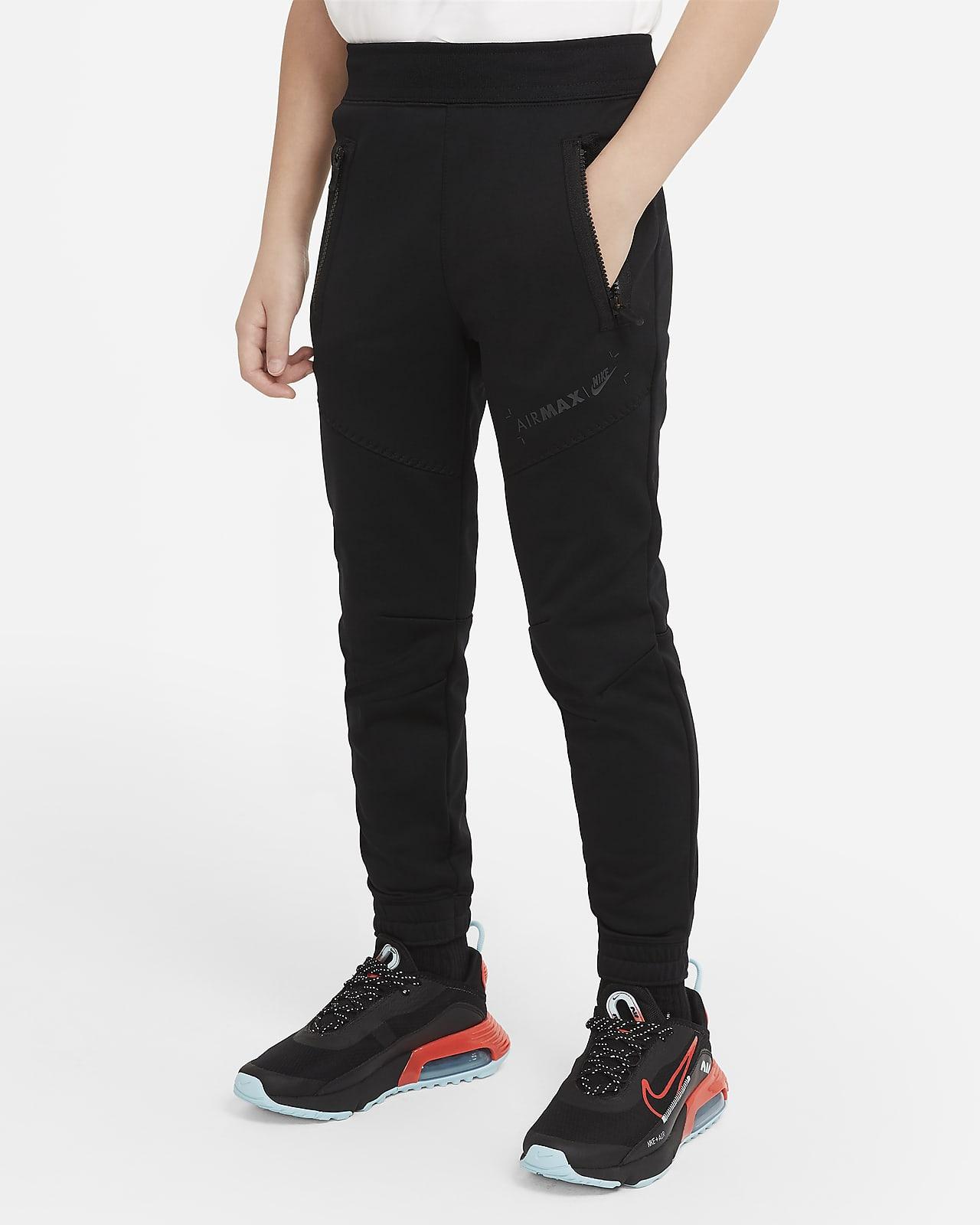 Calças de lã cardada Nike Sportswear Air Max Júnior (Rapaz)