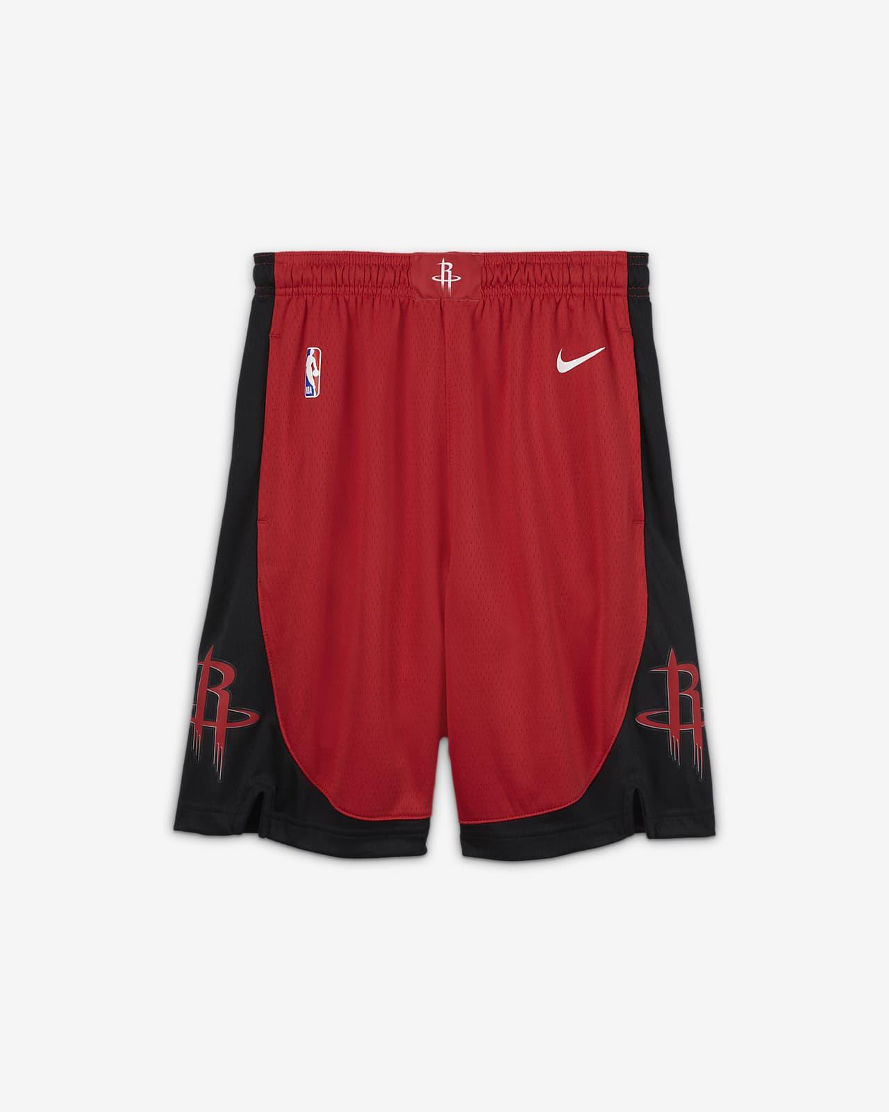 Houston Rockets Icon Edition Nike NBA Swingman Shorts für ältere Kinder