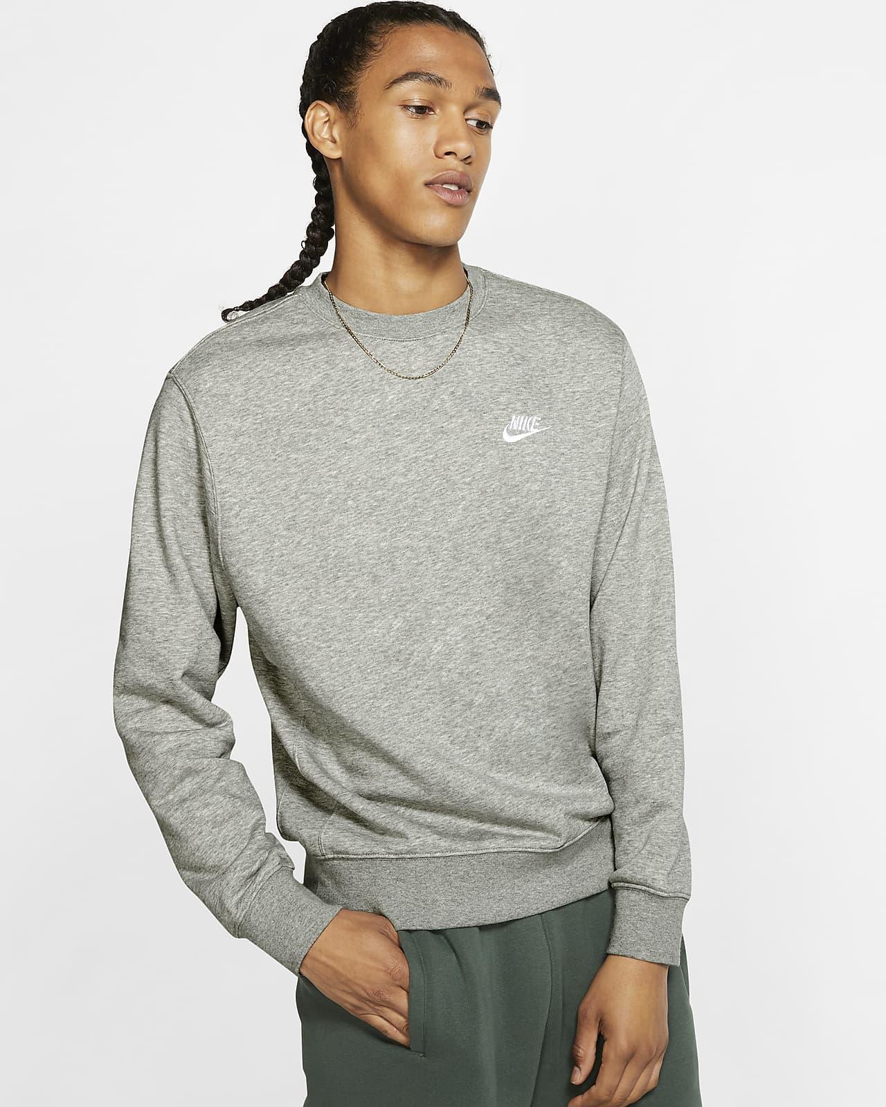 Nike Sportswear Club French-Terry-Rundhalsshirt für Herren