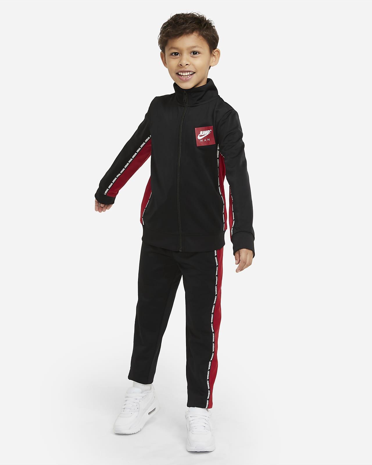 Conjunto de entrenamiento para niños talla pequeña Jordan