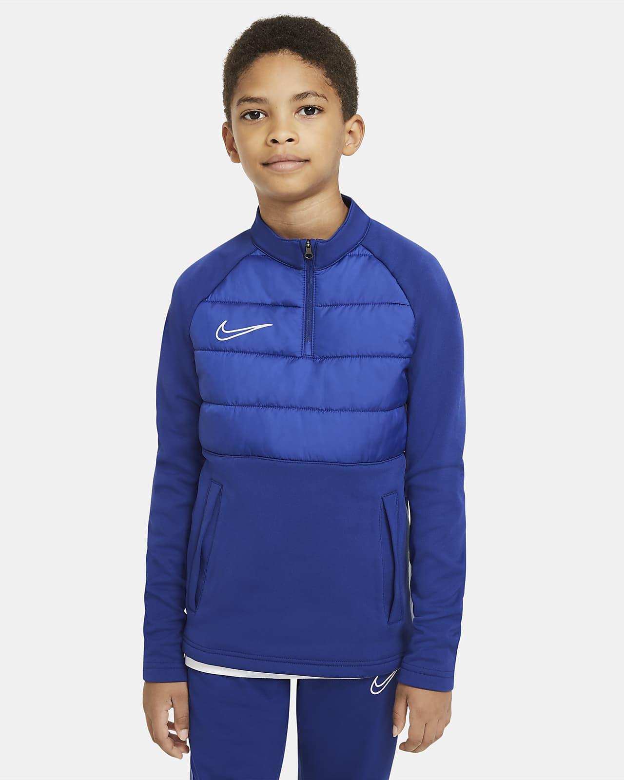 Fotbollsträningströja Nike Dri-FIT Academy Winter Warrior för ungdom