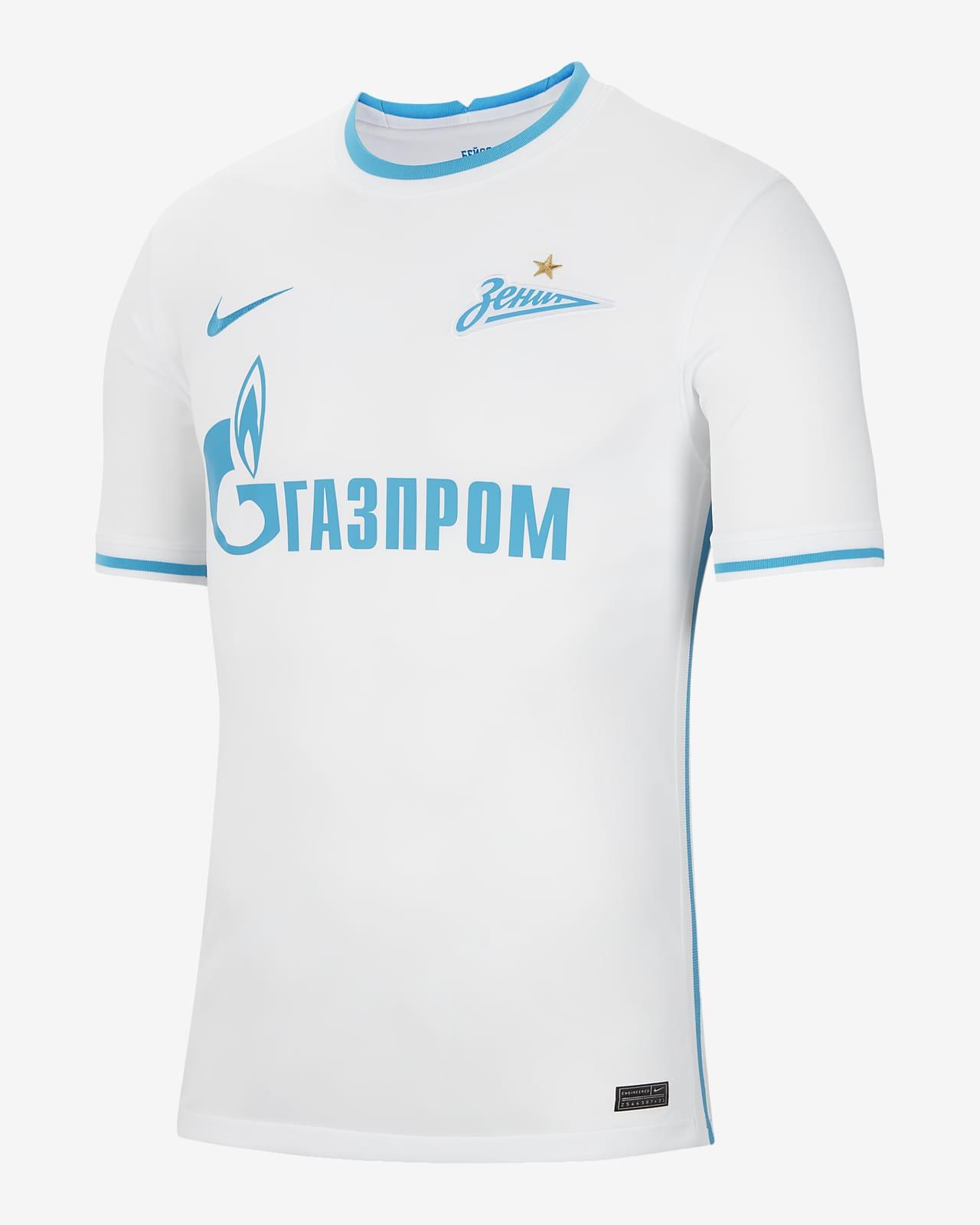 Zenit Saint Petersburg 2021/22 Stadyum Deplasman Nike Dri-FIT Erkek Futbol Forması