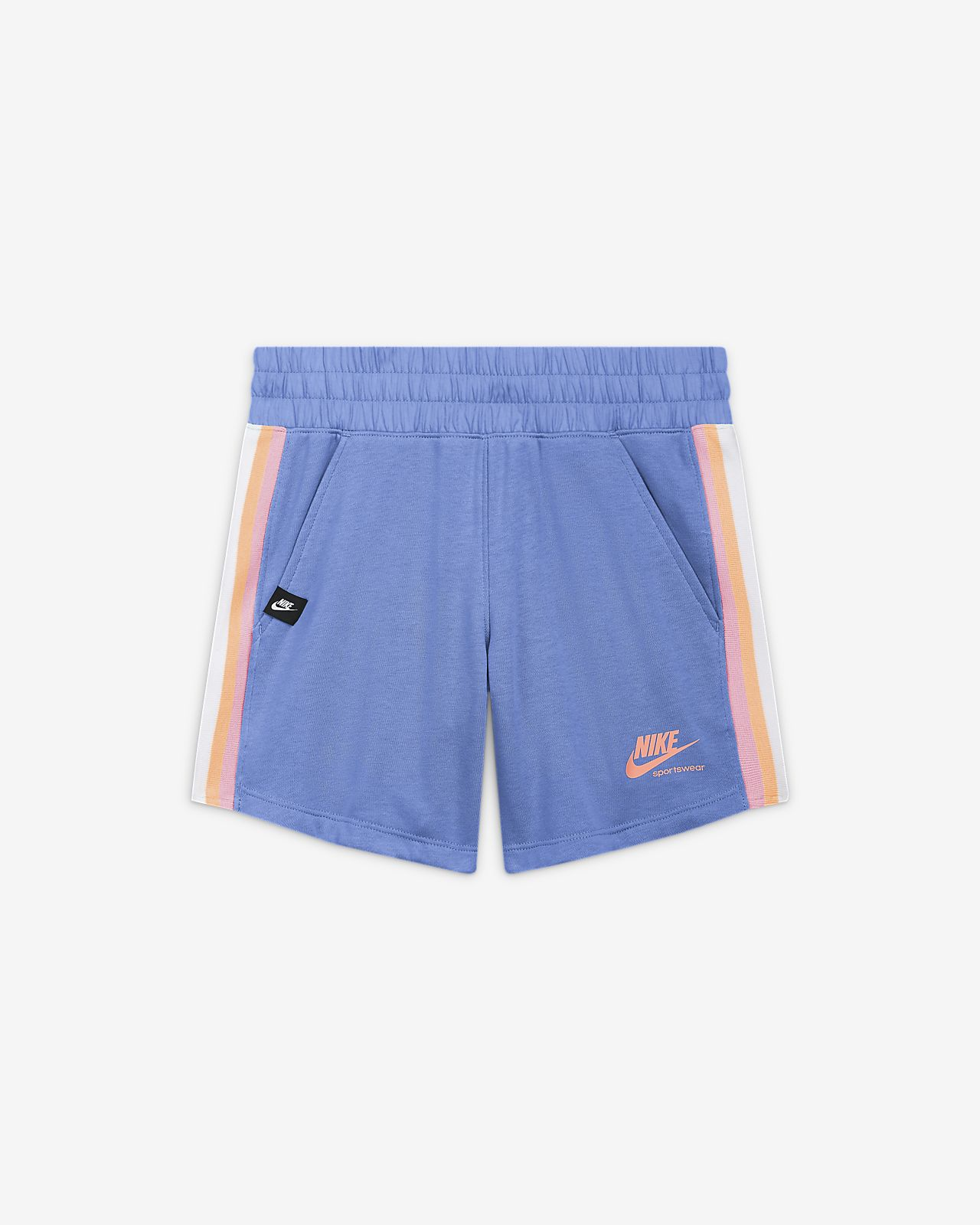 กางเกงขาสั้นเด็กโต (หญิง) Nike Sportswear Heritage