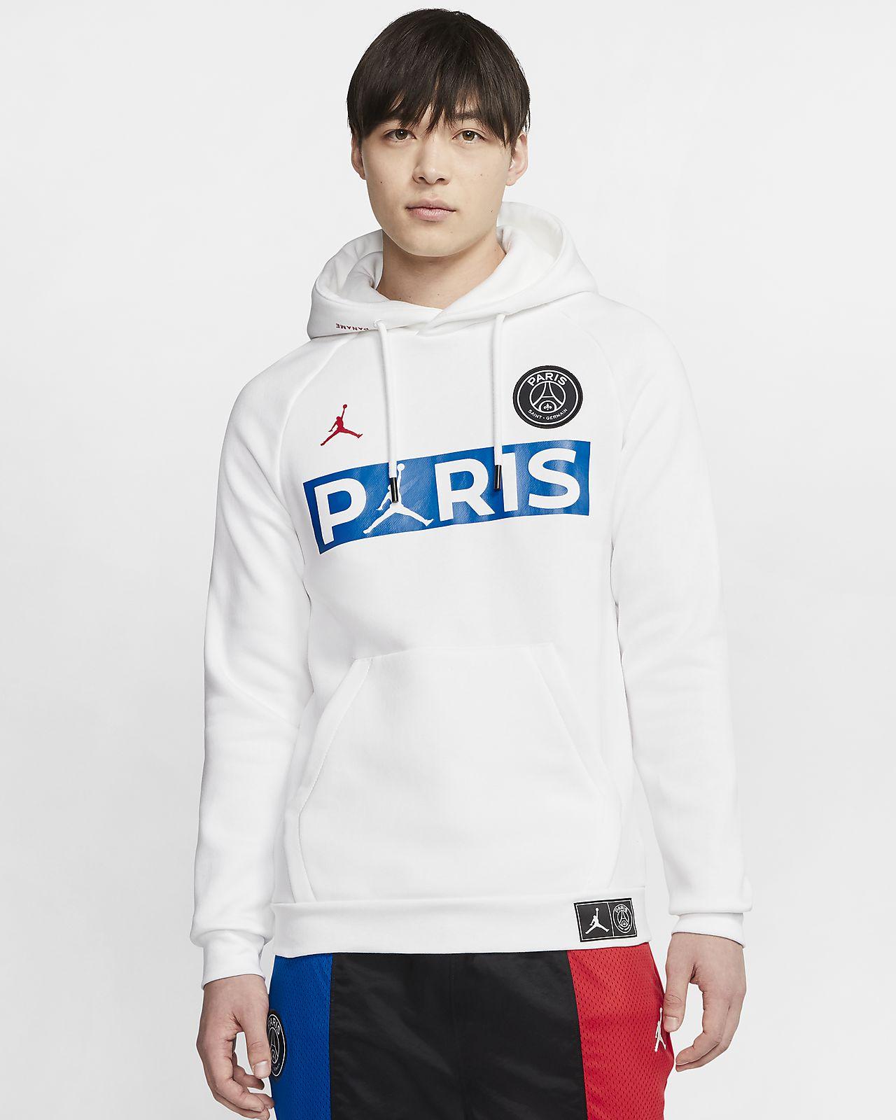 Paris Saint Germain Fleece Pullover Hoodie