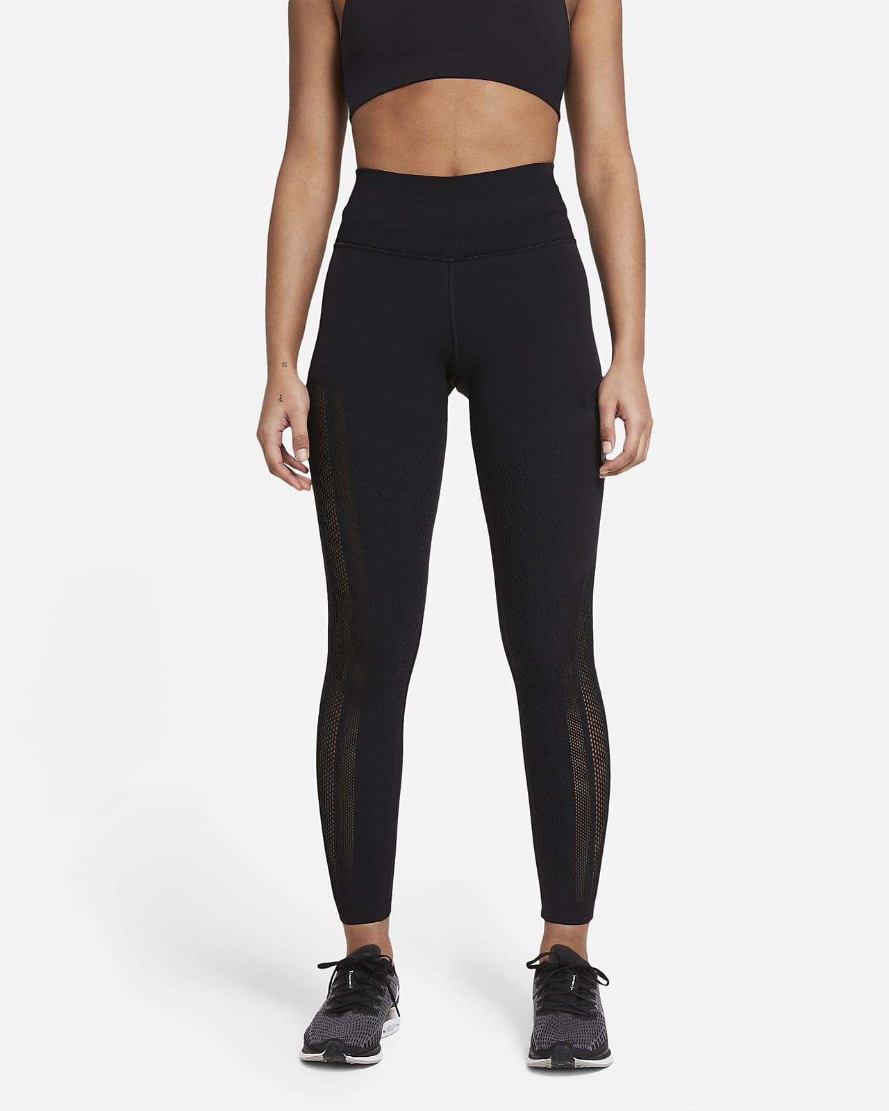 Leggings de malla de tiro medio con bolsillo para mujer Nike Epic Luxe Run Division