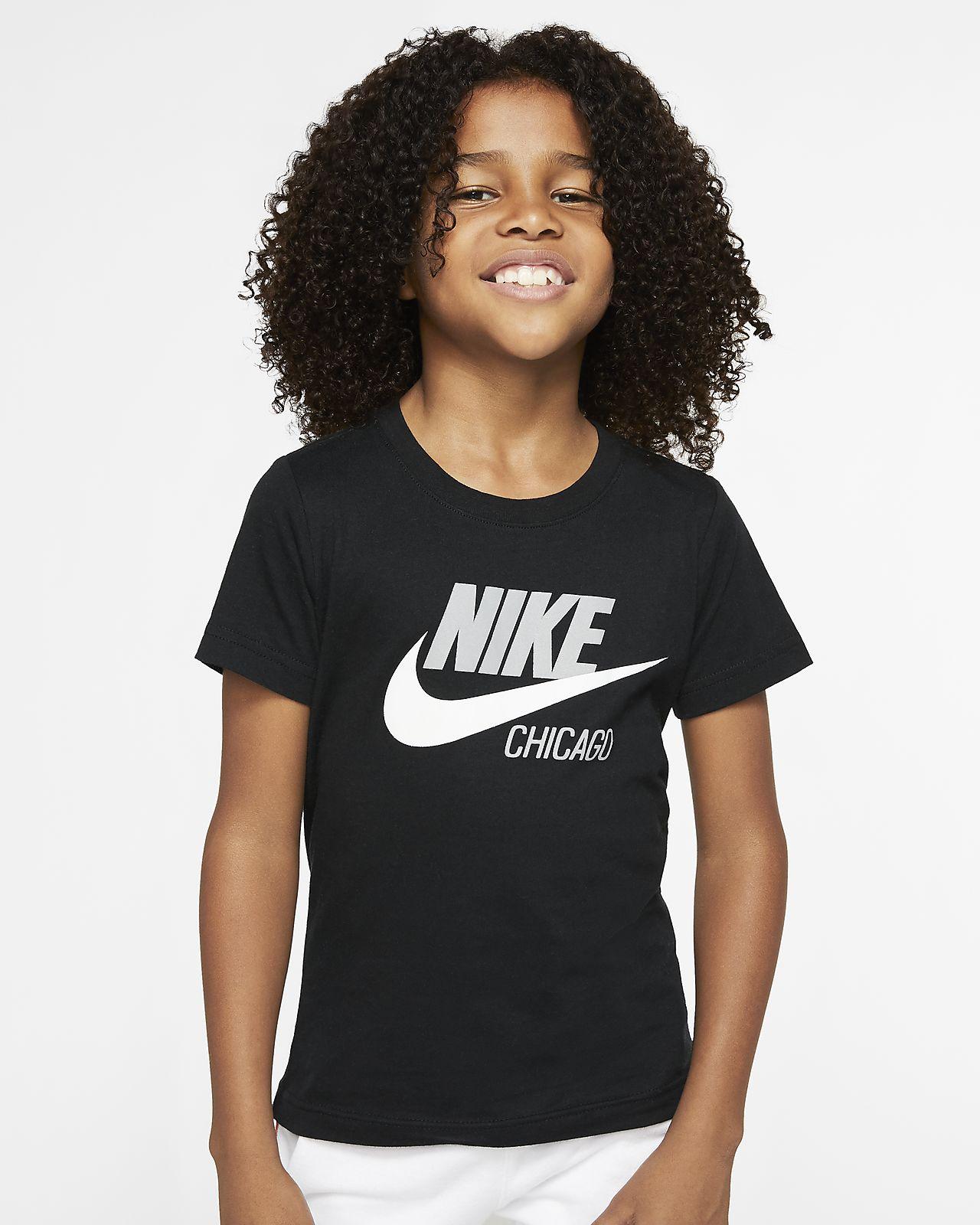 Nike Sportswear Chicago Little Kids' Short-Sleeve T-Shirt