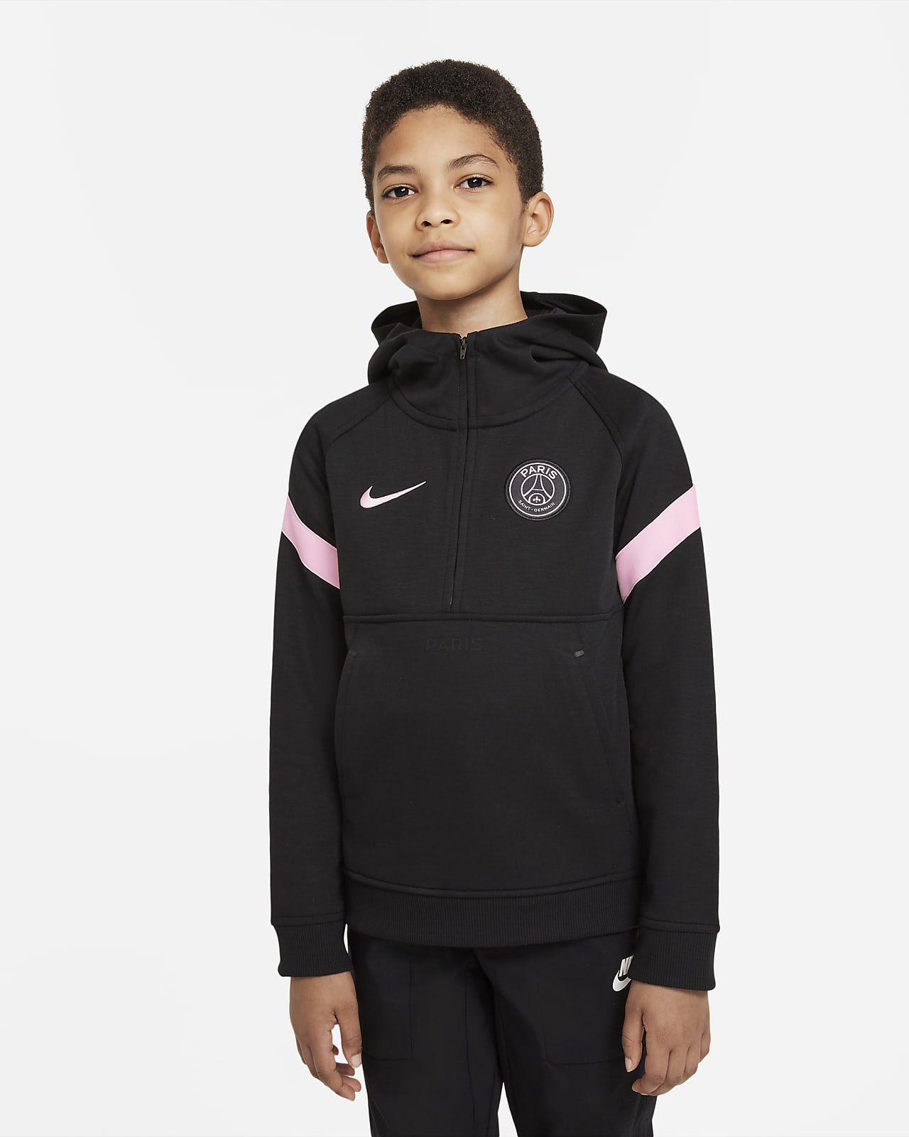 Paris Saint-Germain Older Kids' Nike Dri-FIT Football Hoodie